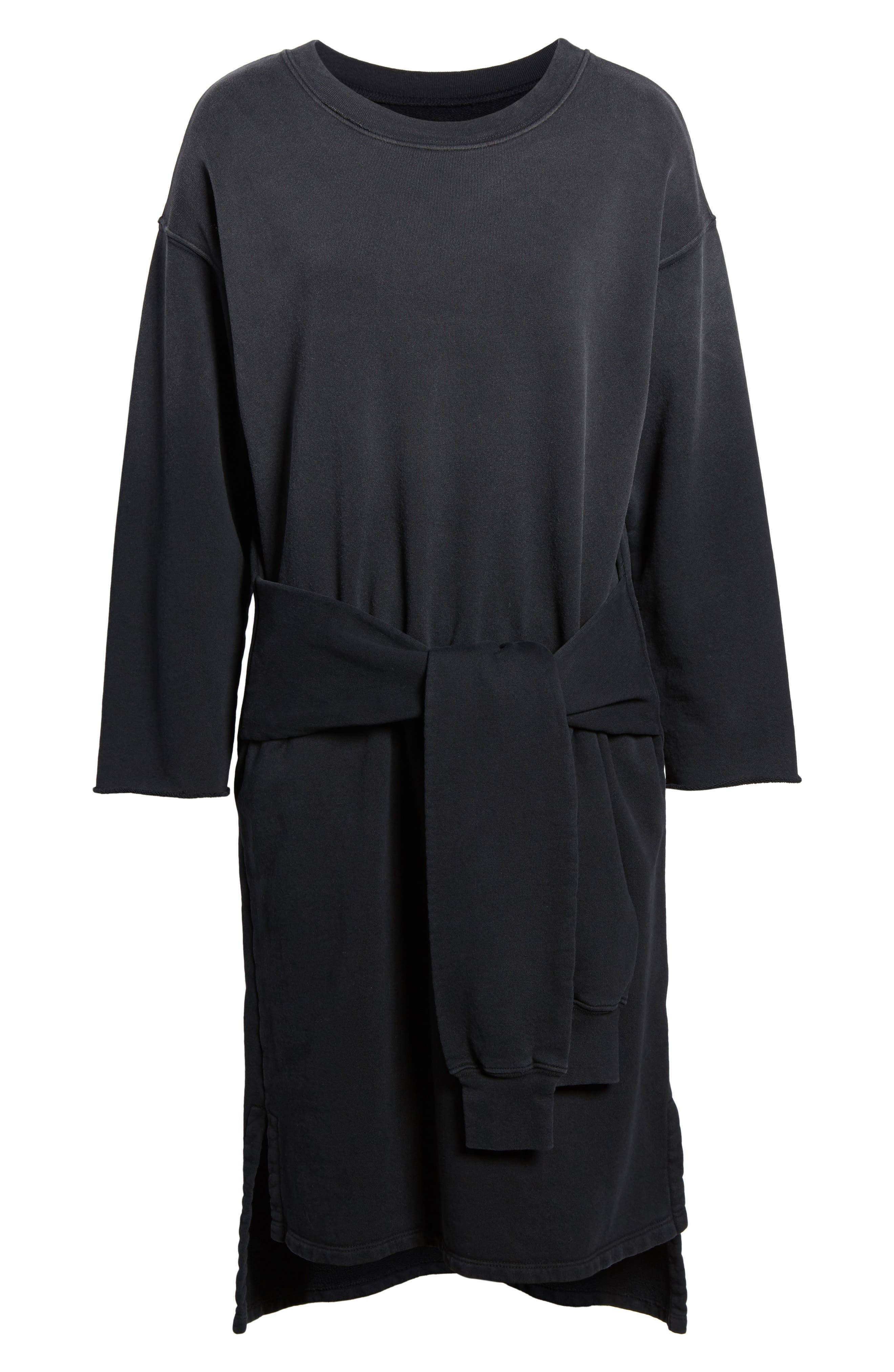 The Double Sweatshirt Dress,                             Alternate thumbnail 6, color,