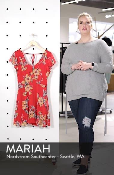 Flutter Sleeve Minidress, sales video thumbnail