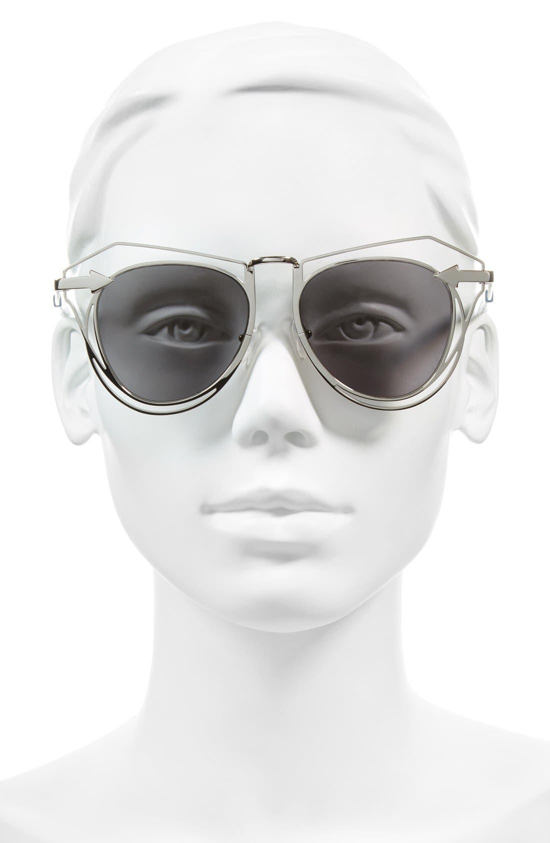 'Marguerite' 52mm Sunglasses,                             Alternate thumbnail 2, color,                             040