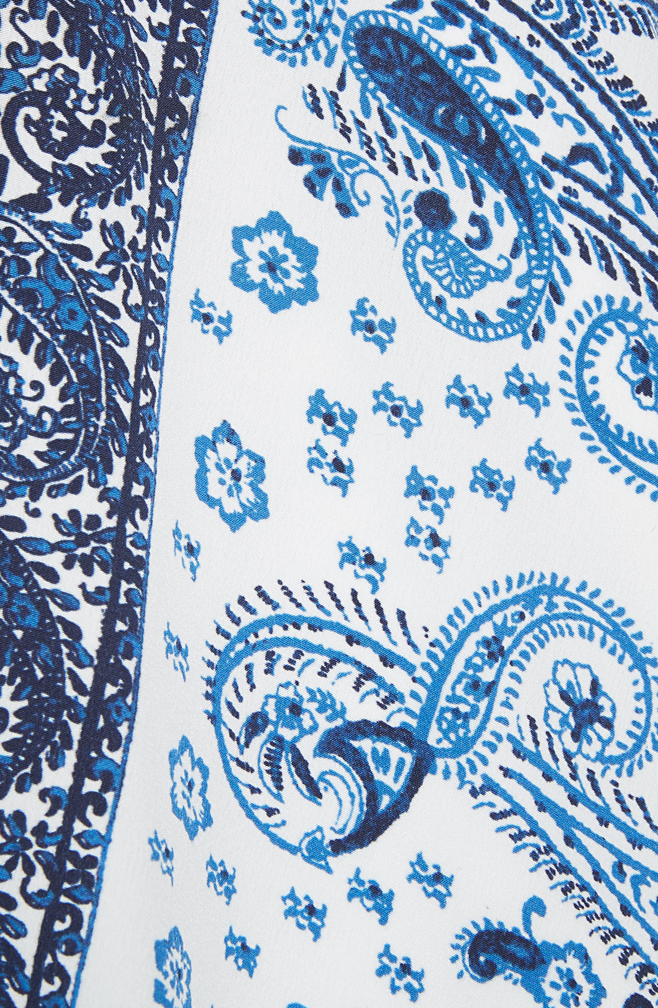 Damesha Silk Top,                             Alternate thumbnail 5, color,                             420