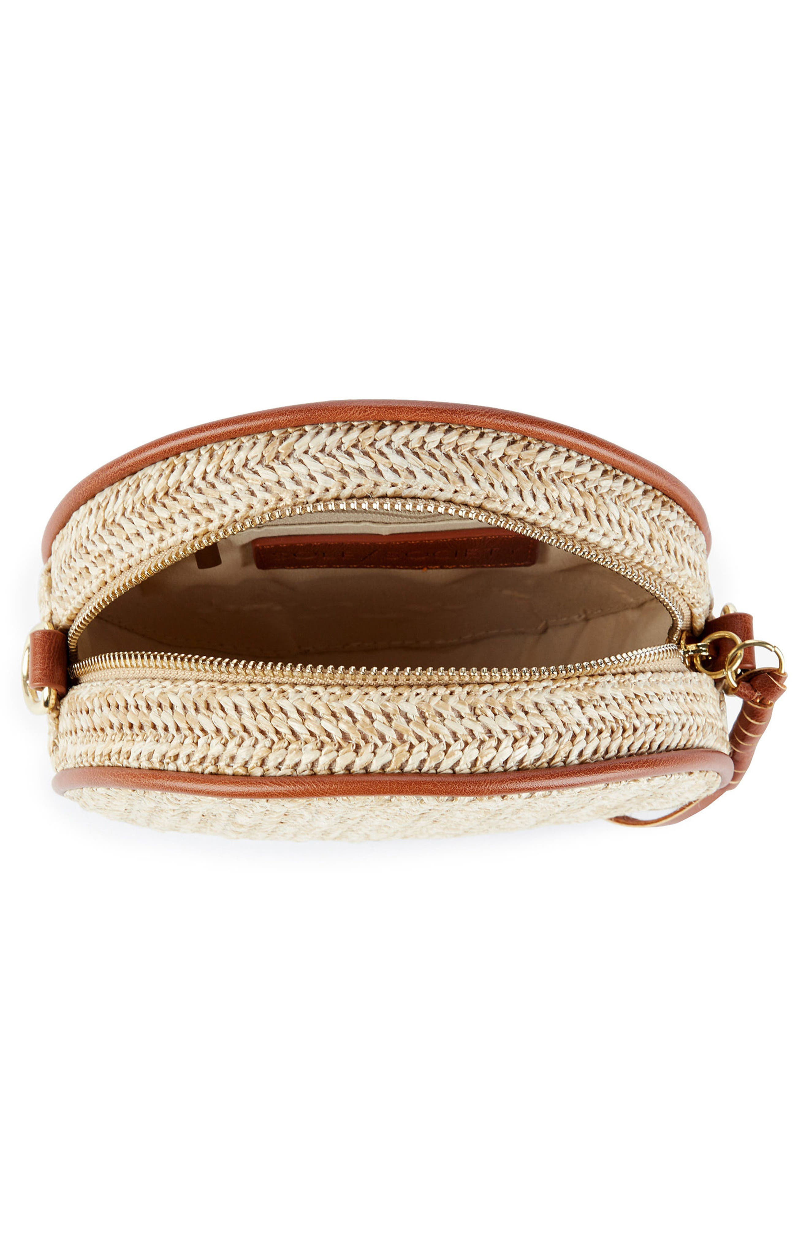 Pipper Small Faux Leather Crossbody Bag,                             Alternate thumbnail 4, color,                             250