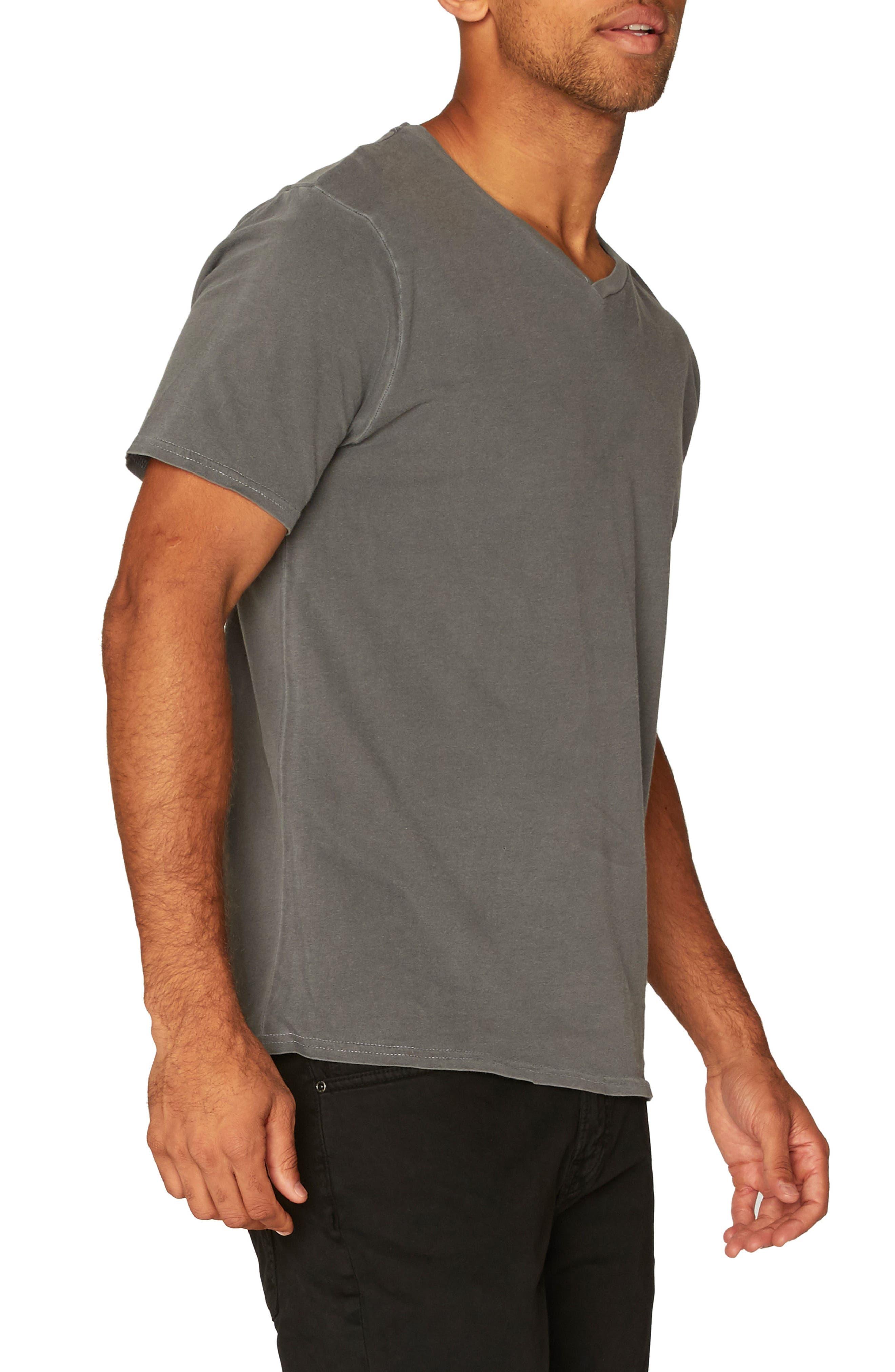Standard V-Neck T-Shirt,                             Alternate thumbnail 3, color,                             020