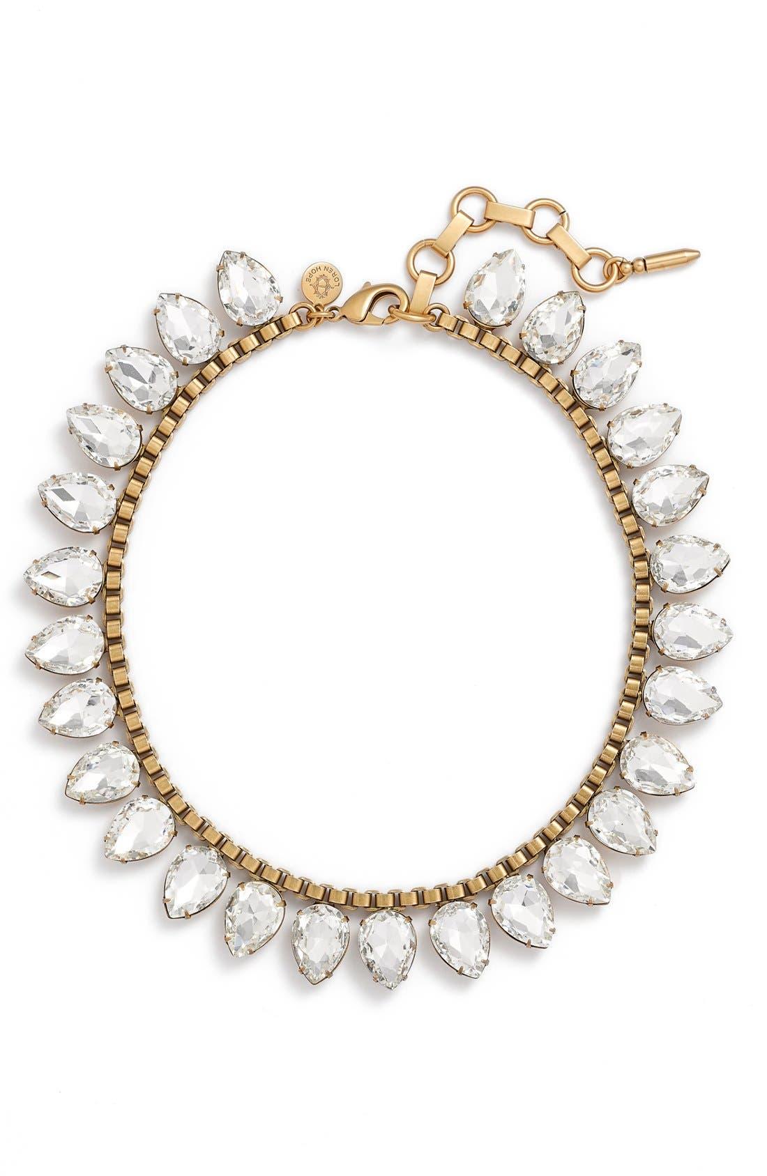 'Sylvia' Crystal Collar Necklace,                             Main thumbnail 2, color,