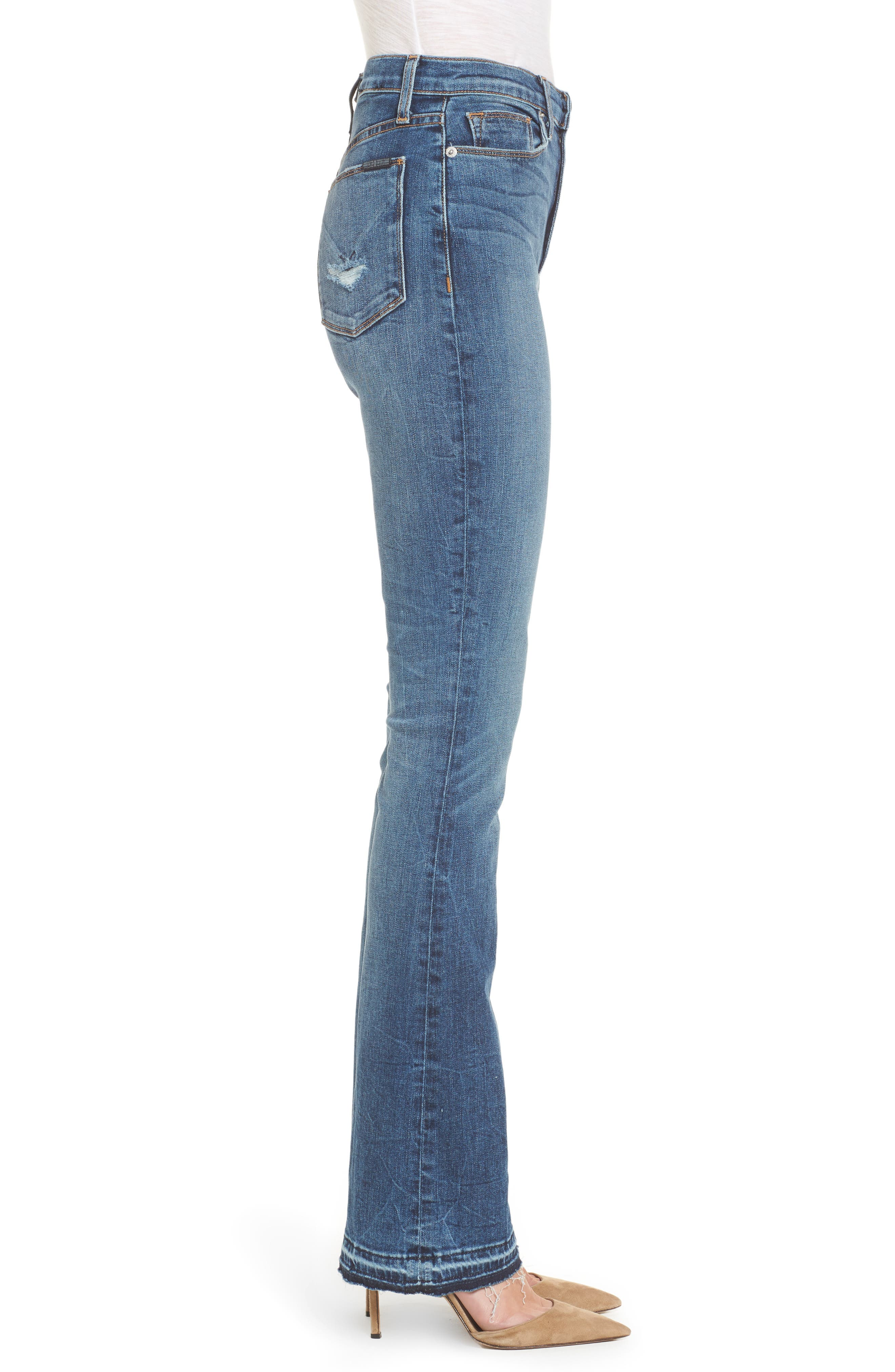 Heartbreaker High Waist Bootcut Jeans,                             Alternate thumbnail 3, color,                             SPLIT SECOND