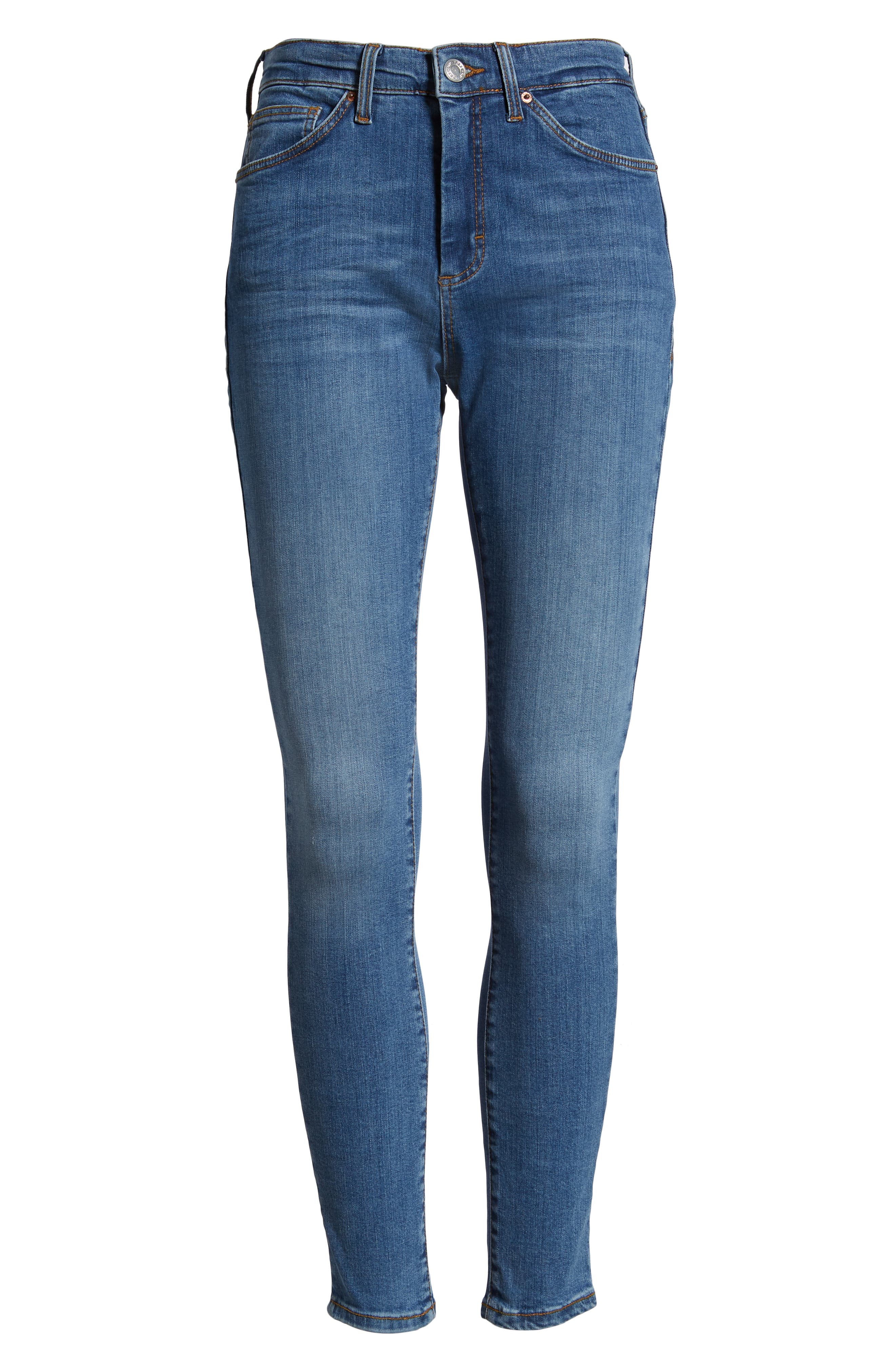 MOTO Sidney Stretch Skinny Jeans,                             Alternate thumbnail 12, color,