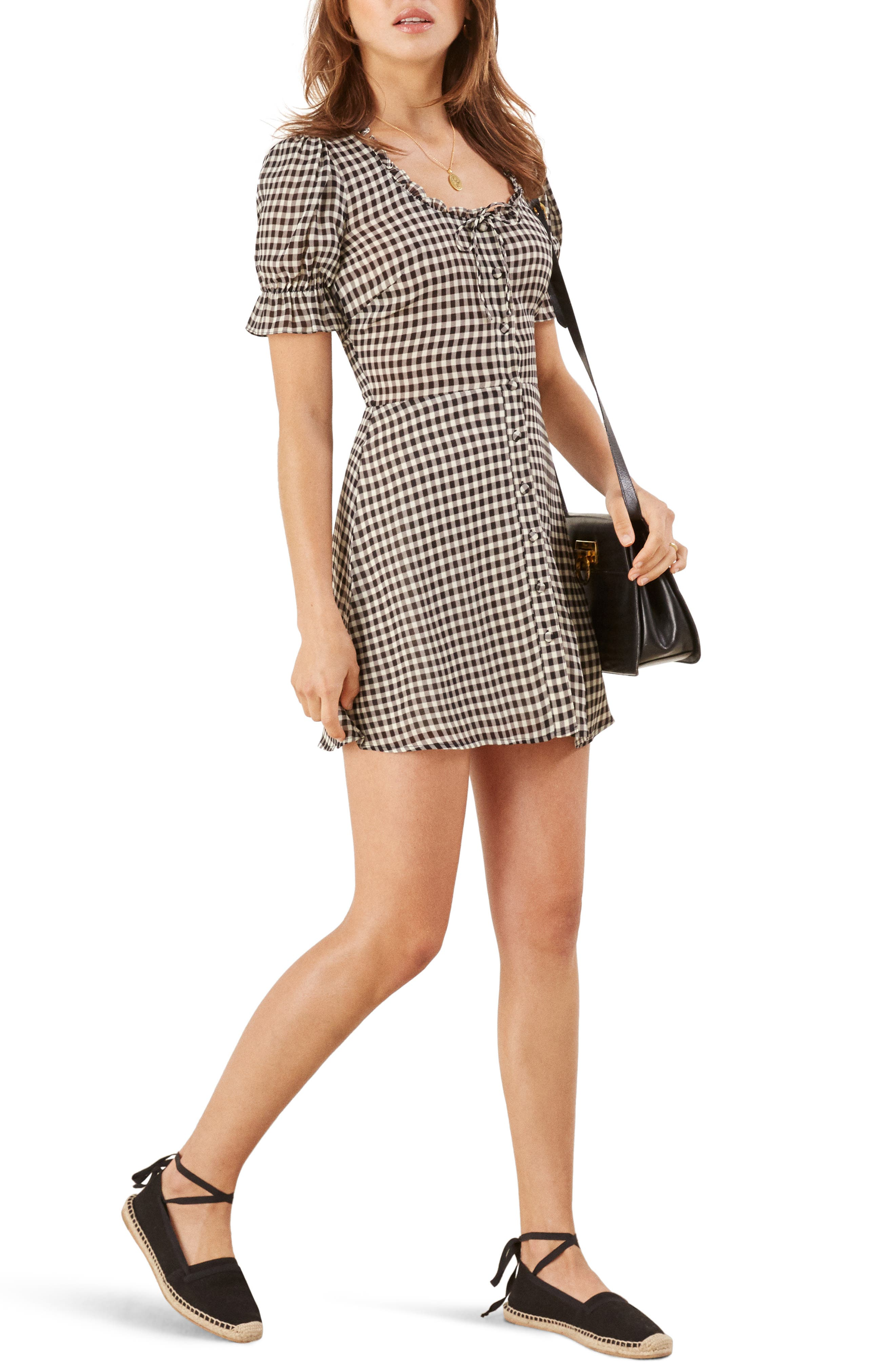 REFORMATION Page Dress, Main, color, 001