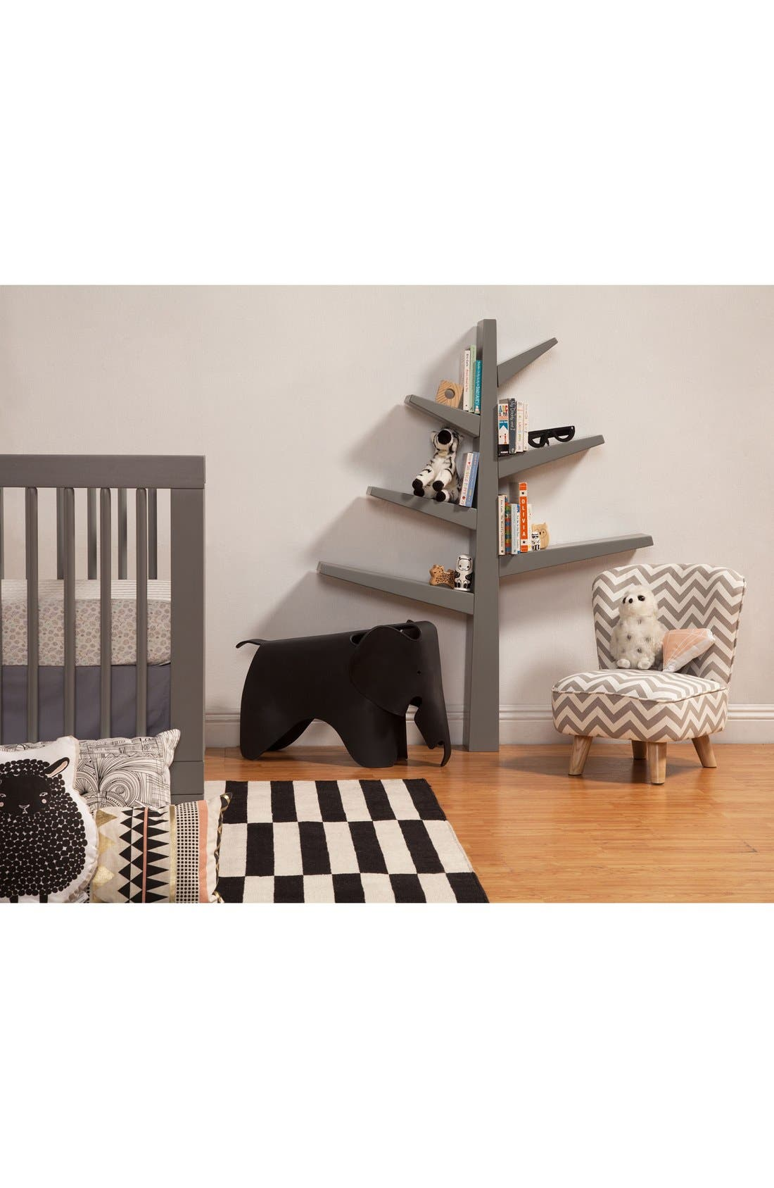 'Spruce Tree' Bookcase,                             Alternate thumbnail 6, color,                             GREY/ MINT