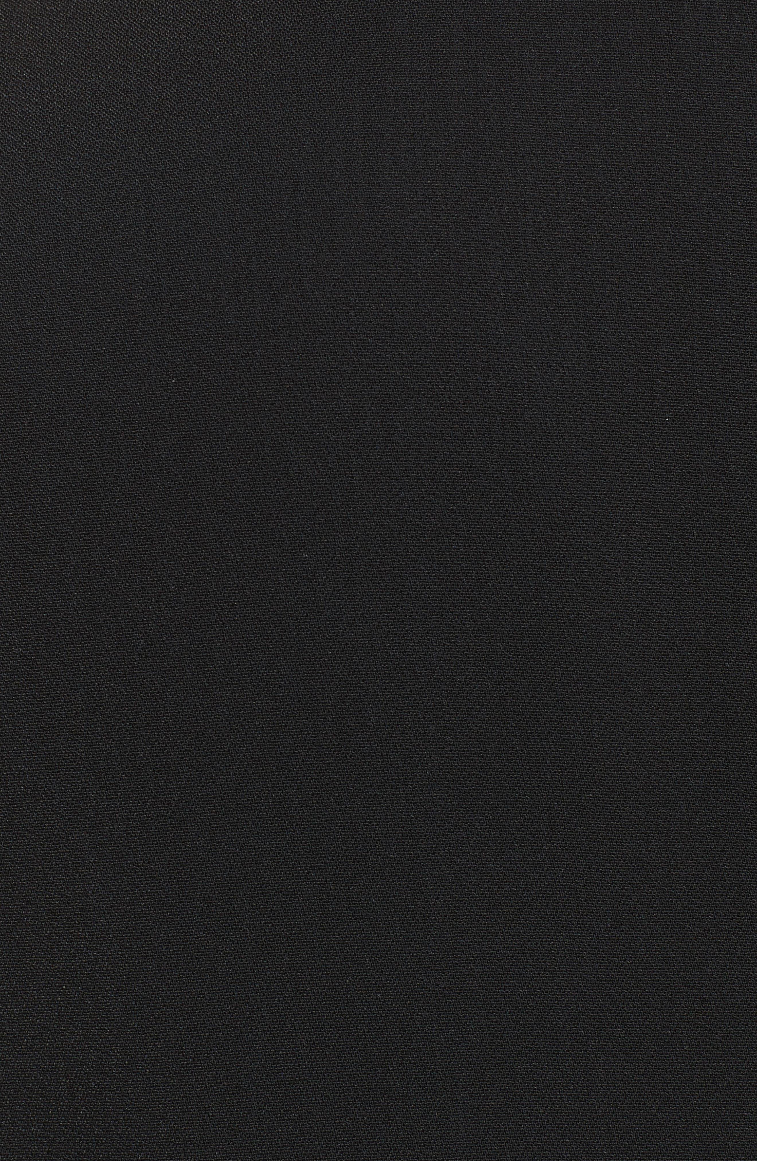 Flare Sleeve Crepe Blouse,                             Alternate thumbnail 9, color,