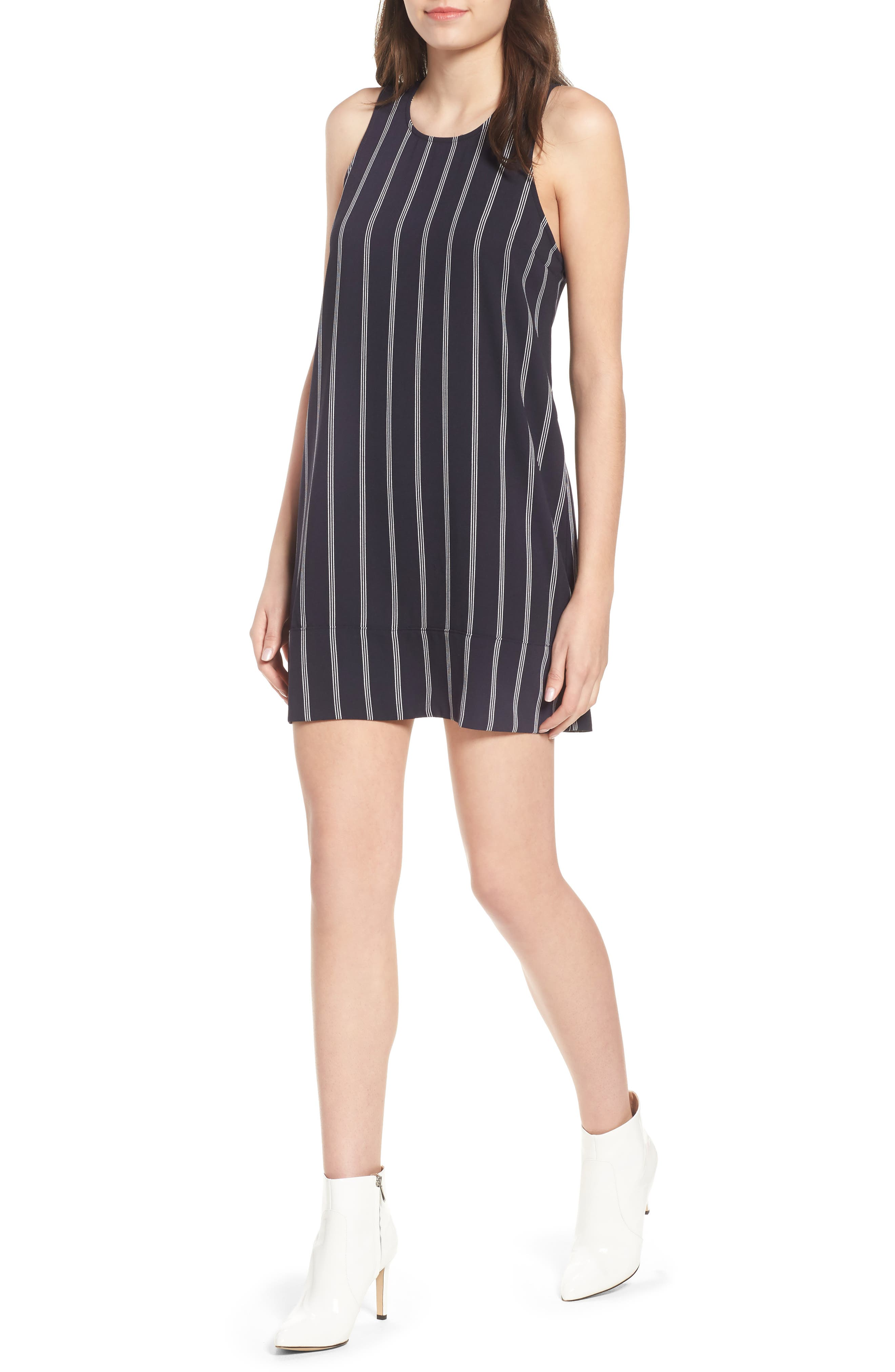 Racerback Shift Dress,                             Main thumbnail 10, color,