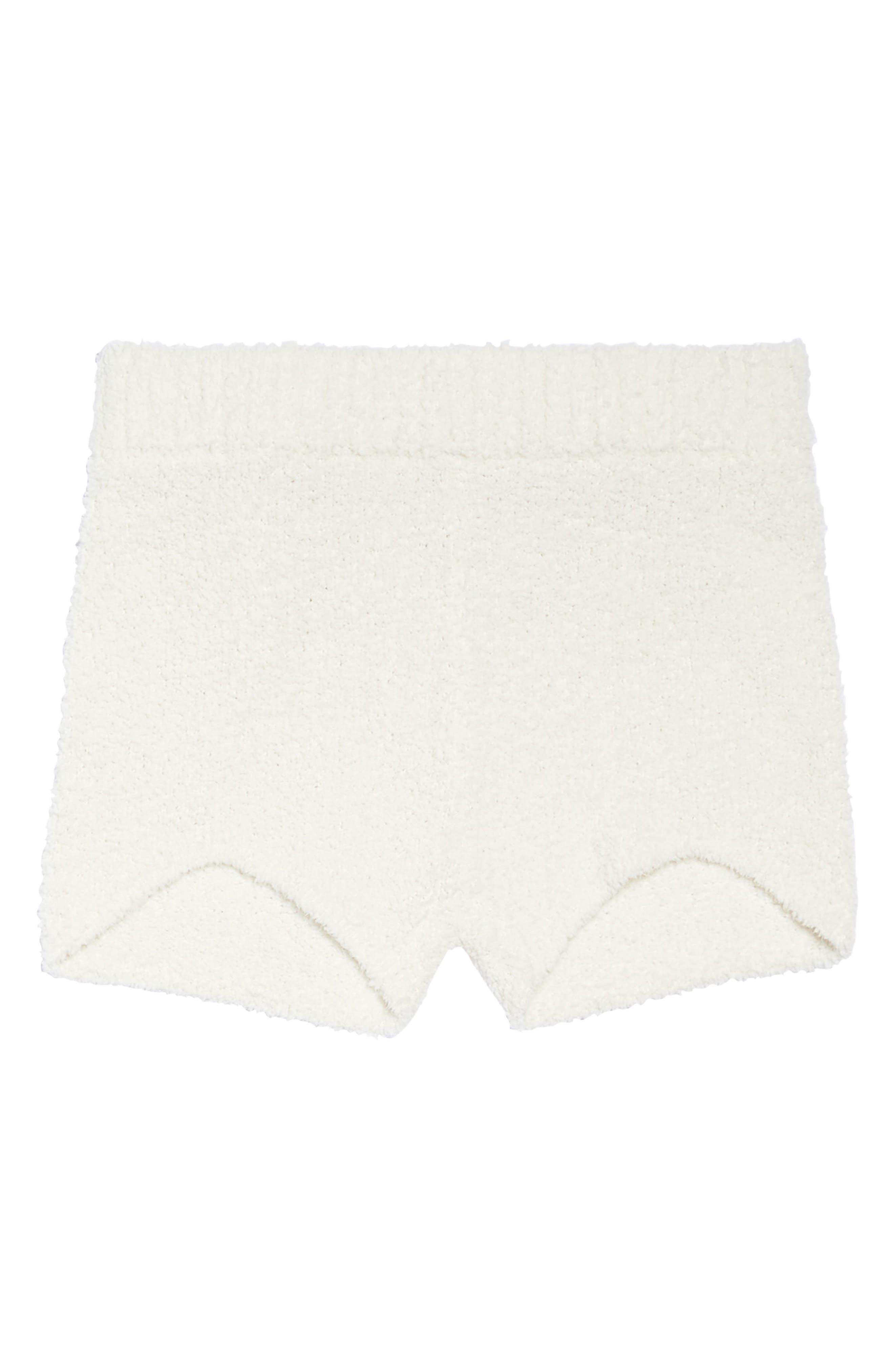 Sweater Knit Pajama Shorts,                             Alternate thumbnail 6, color,                             900