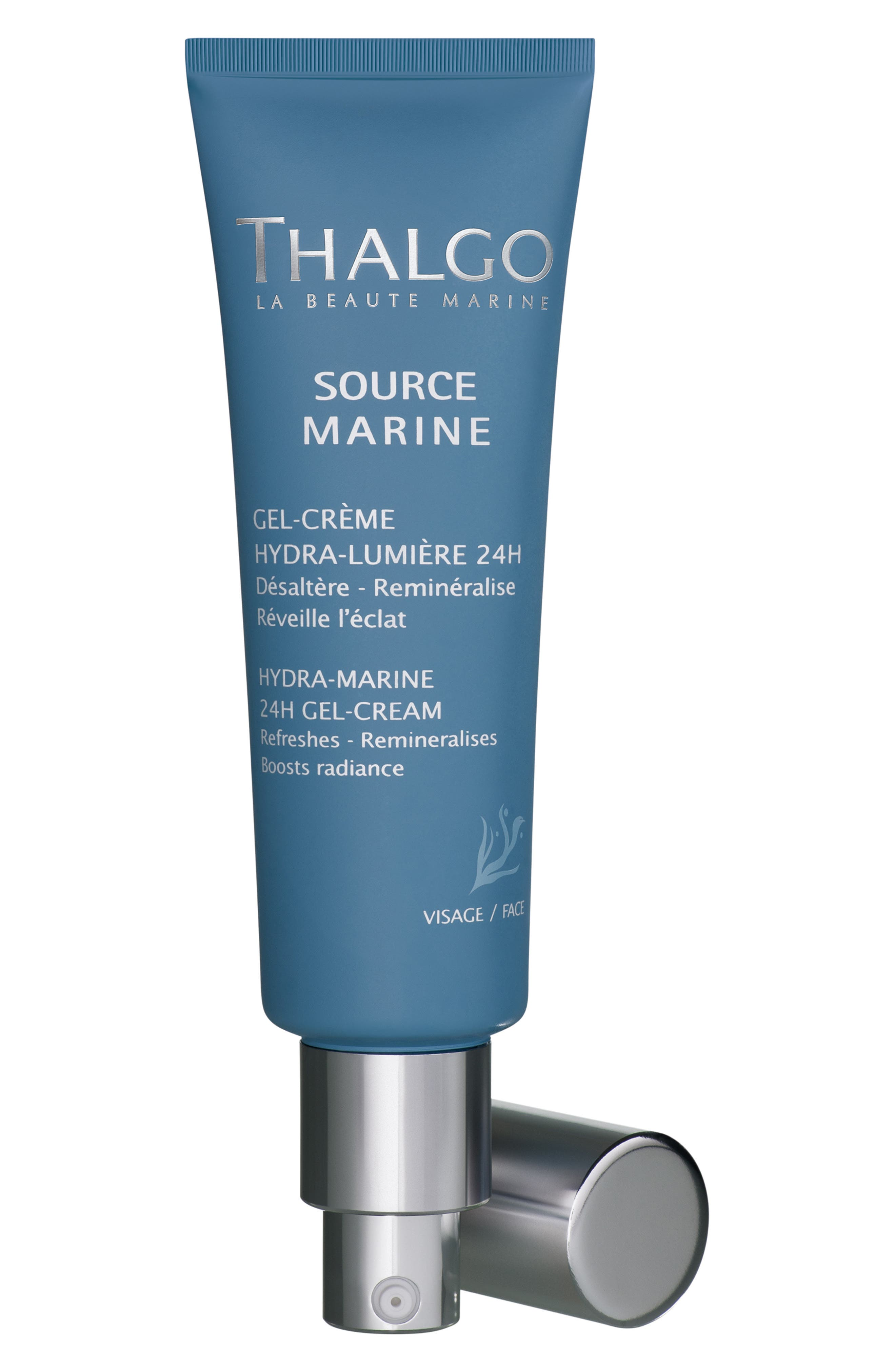 'Hydra-Marine 24h' Gel-Cream,                             Alternate thumbnail 2, color,                             000