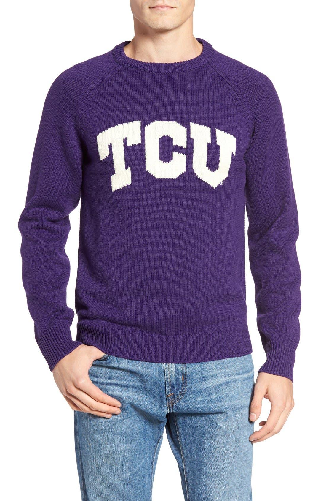 HILLFLINT,                             TCU Heritage Sweater,                             Main thumbnail 1, color,                             500