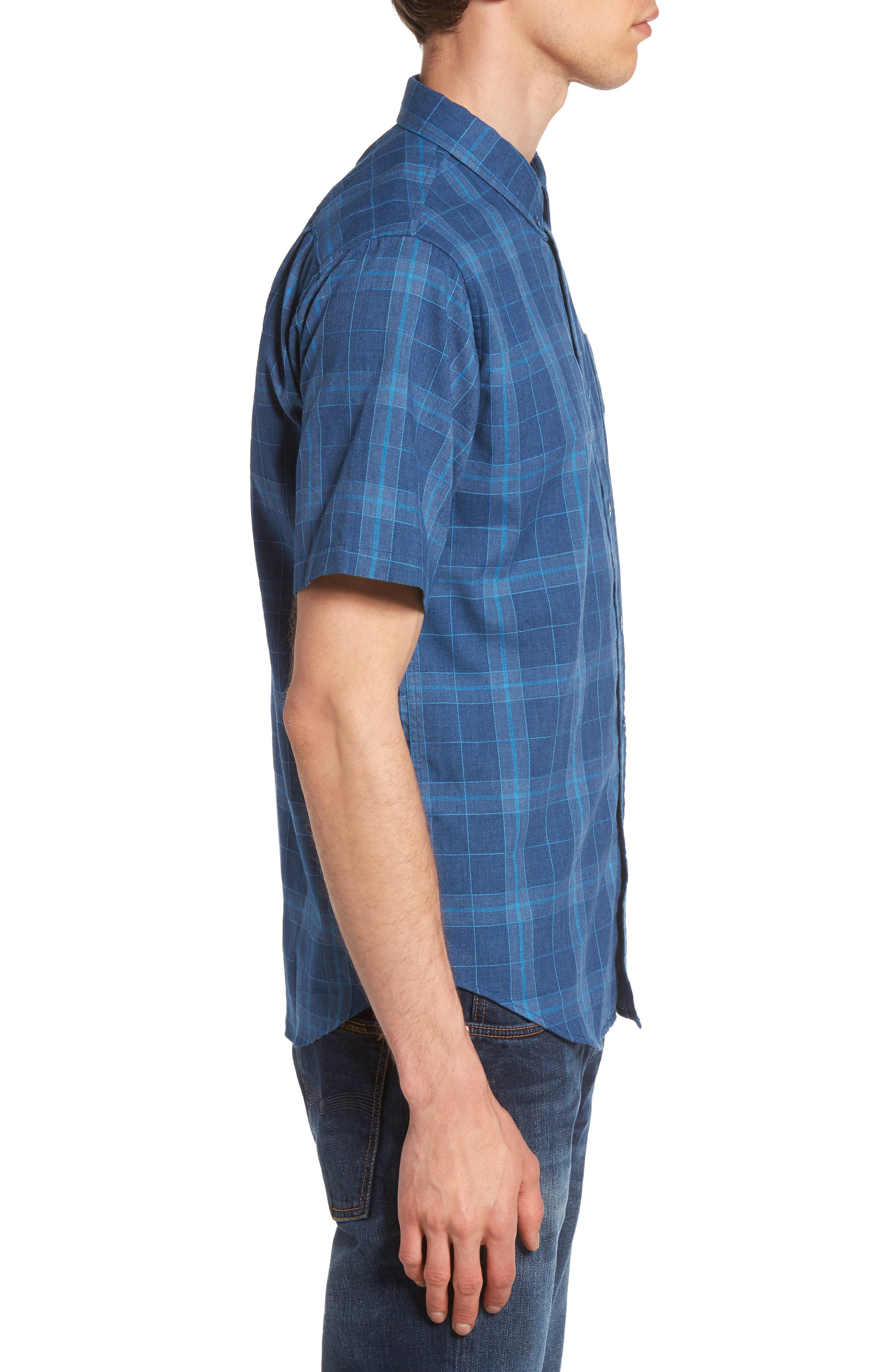 Plaid Woven Shirt,                             Alternate thumbnail 6, color,