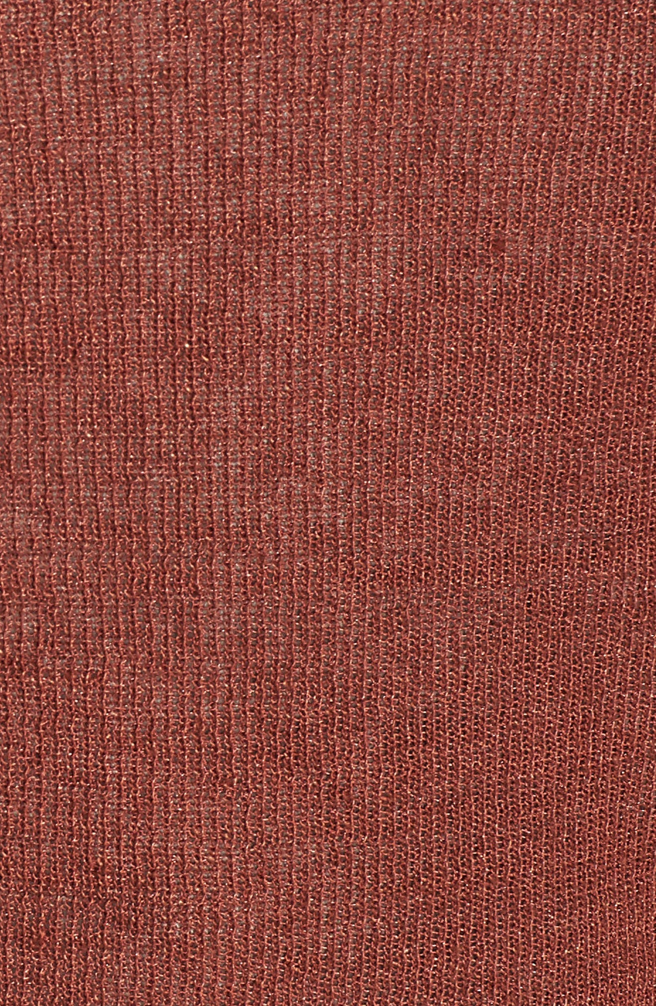 Tie Front Organic Linen Blend Cardigan,                             Alternate thumbnail 15, color,