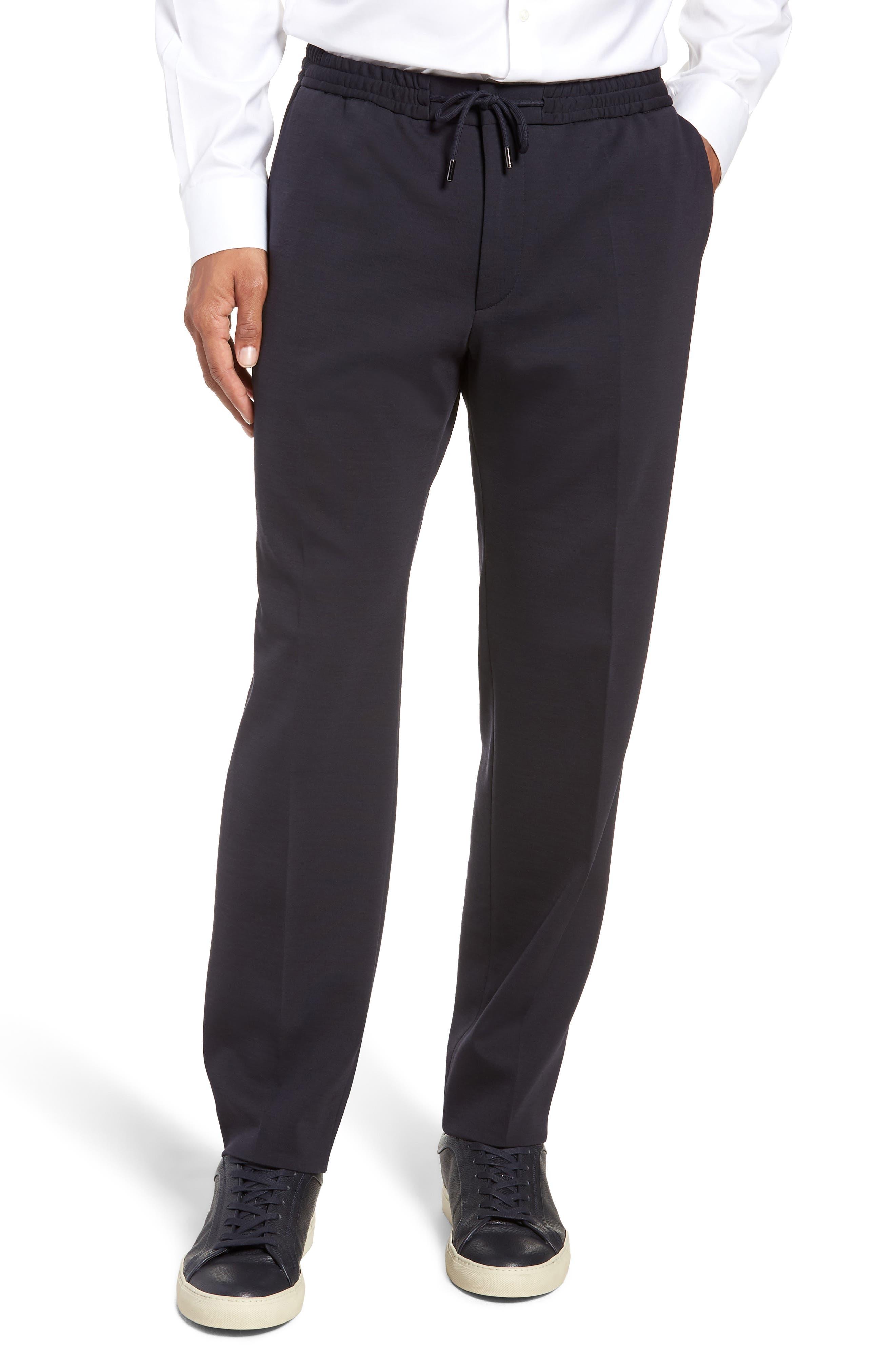 Banks-J Wool & Cotton Joggers,                         Main,                         color, OPEN BLUE