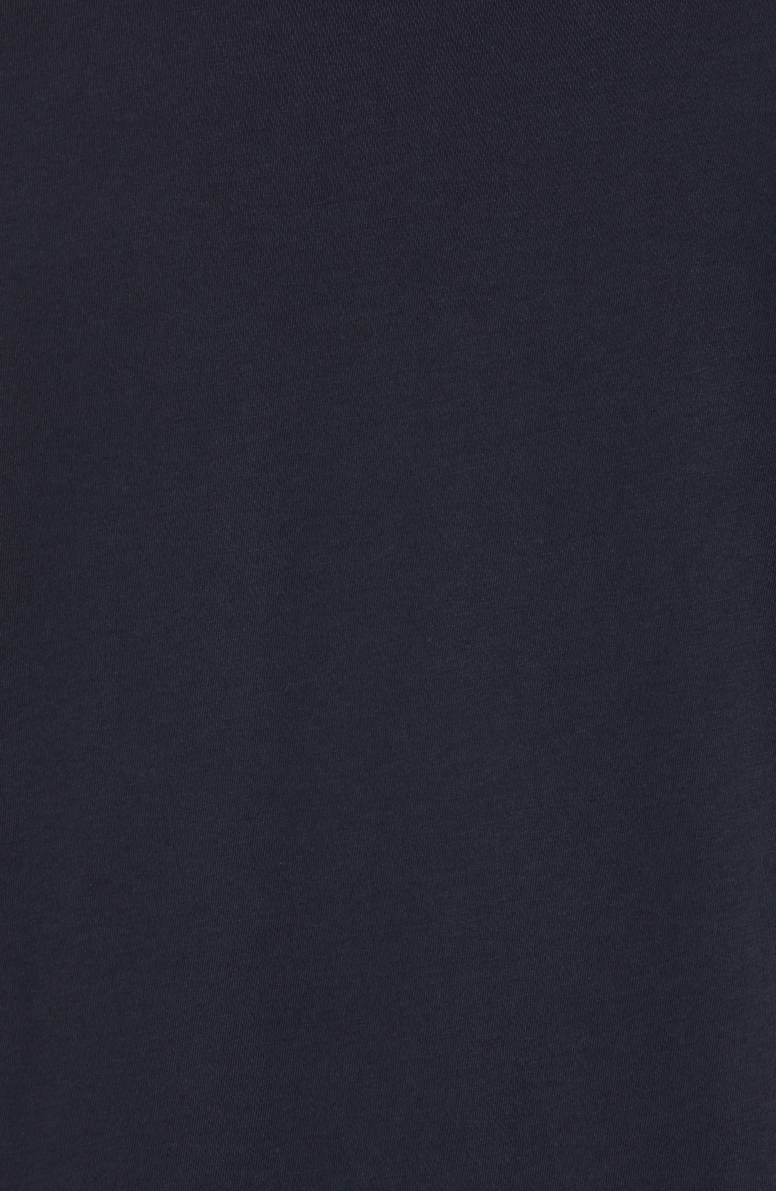 Rock City Crewneck T-Shirt,                             Alternate thumbnail 5, color,                             BLACK