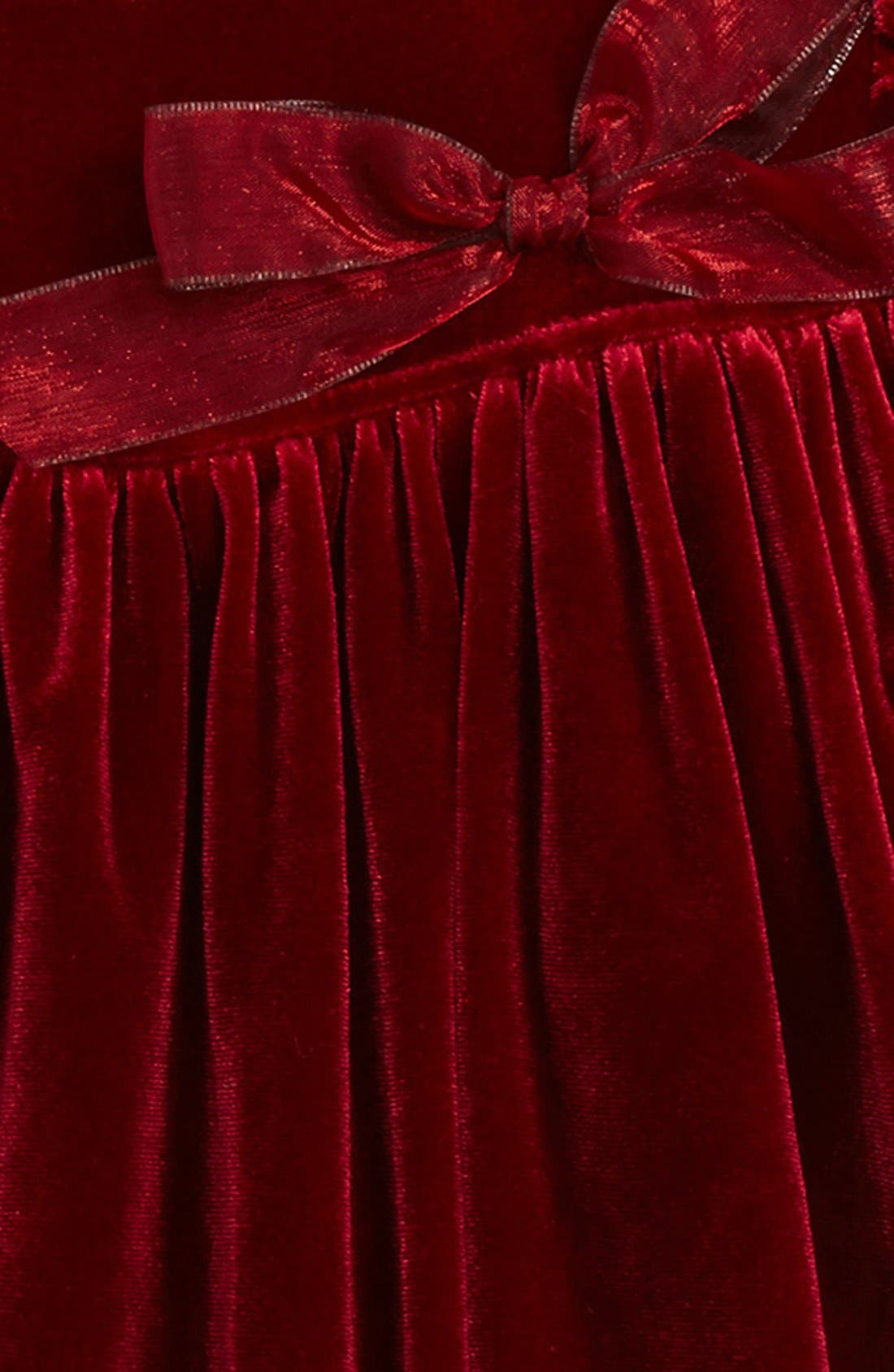 Velvet Dress,                             Alternate thumbnail 2, color,                             600