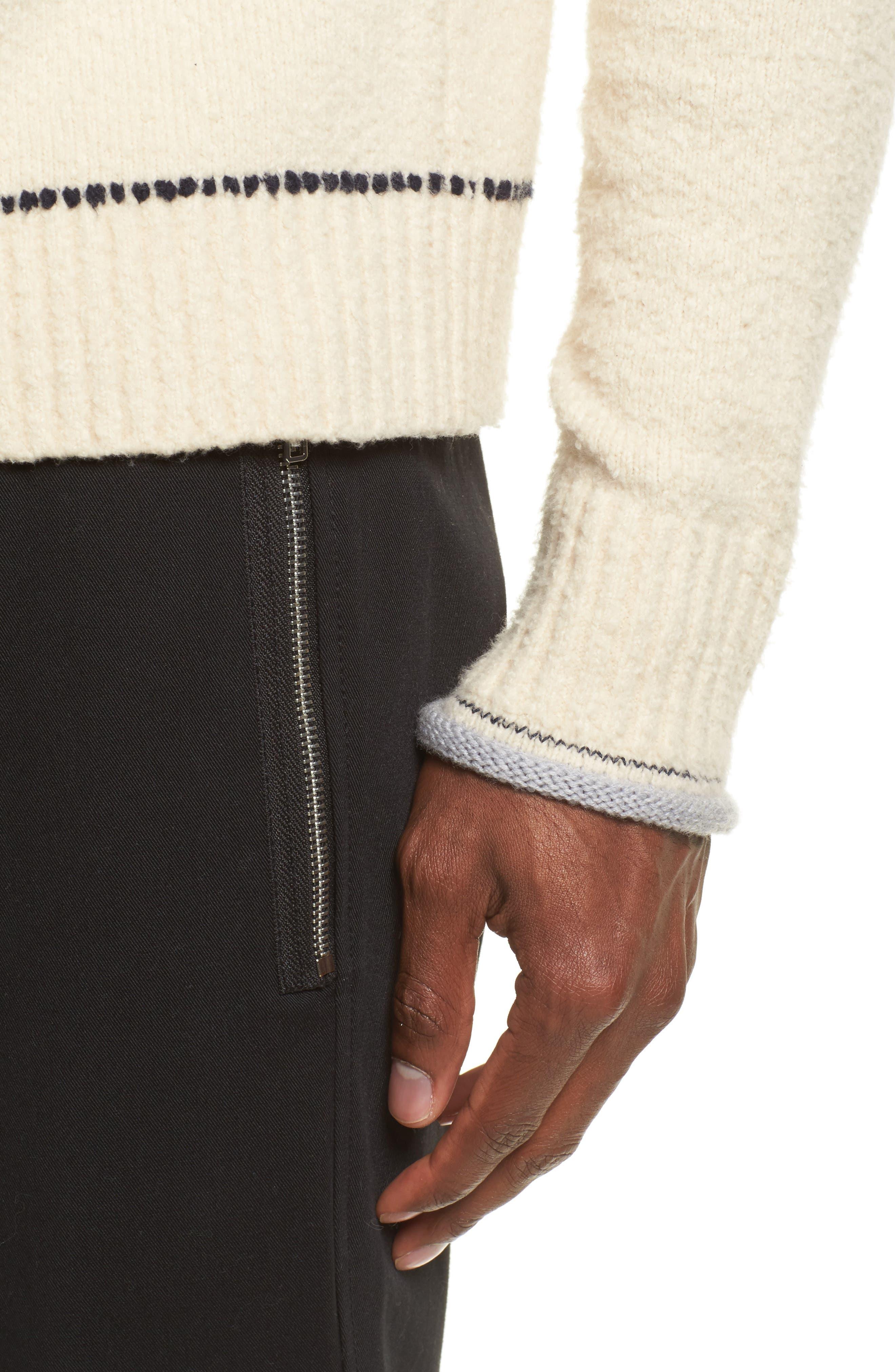 Plaited Sweater,                             Alternate thumbnail 7, color,