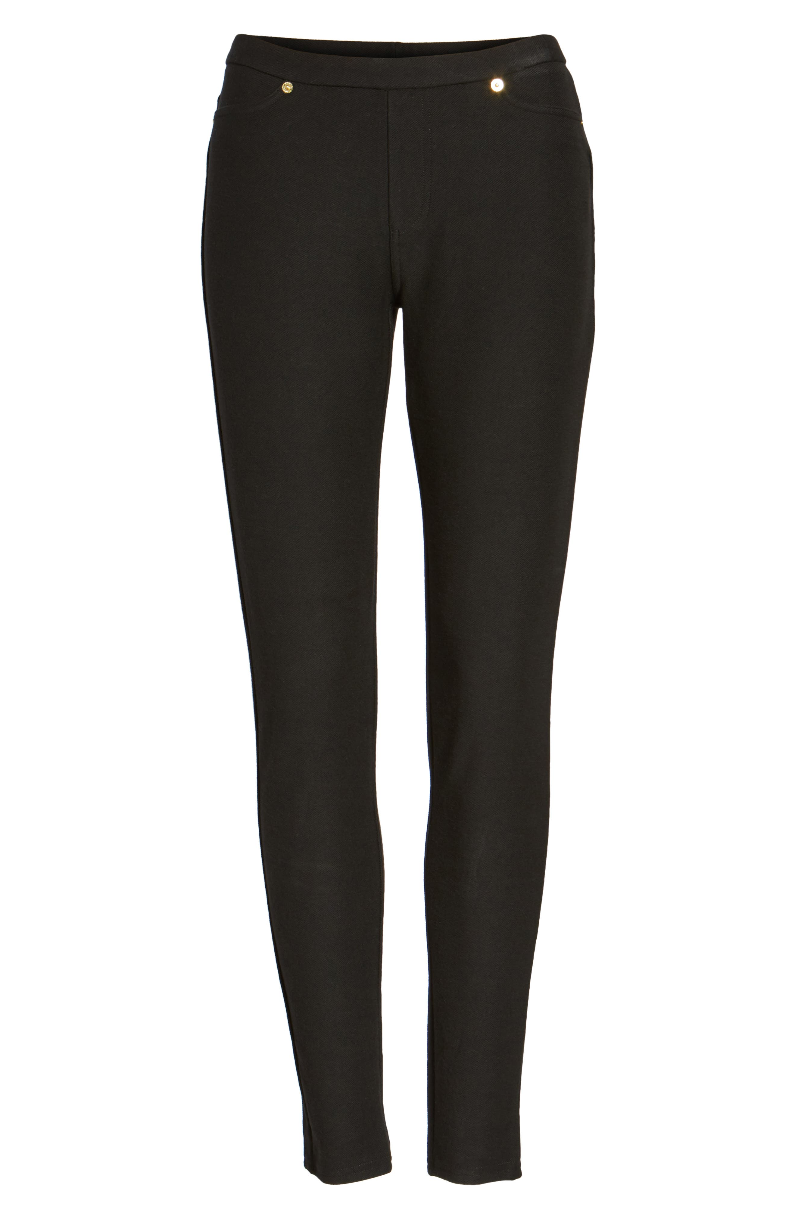 Stretch Twill Leggings,                             Alternate thumbnail 3, color,