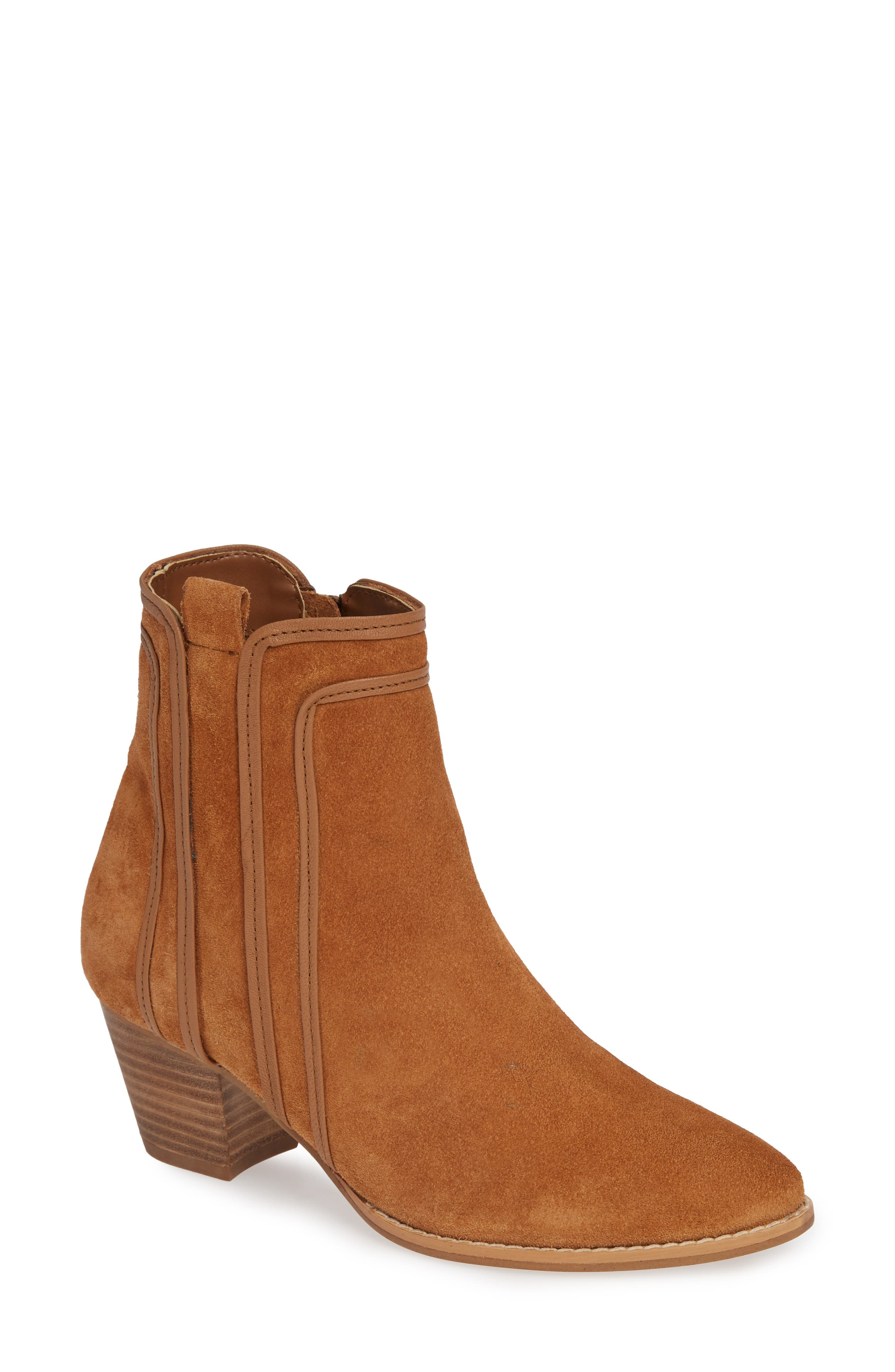 Coconuts By Matisse Ford Bootie- Brown