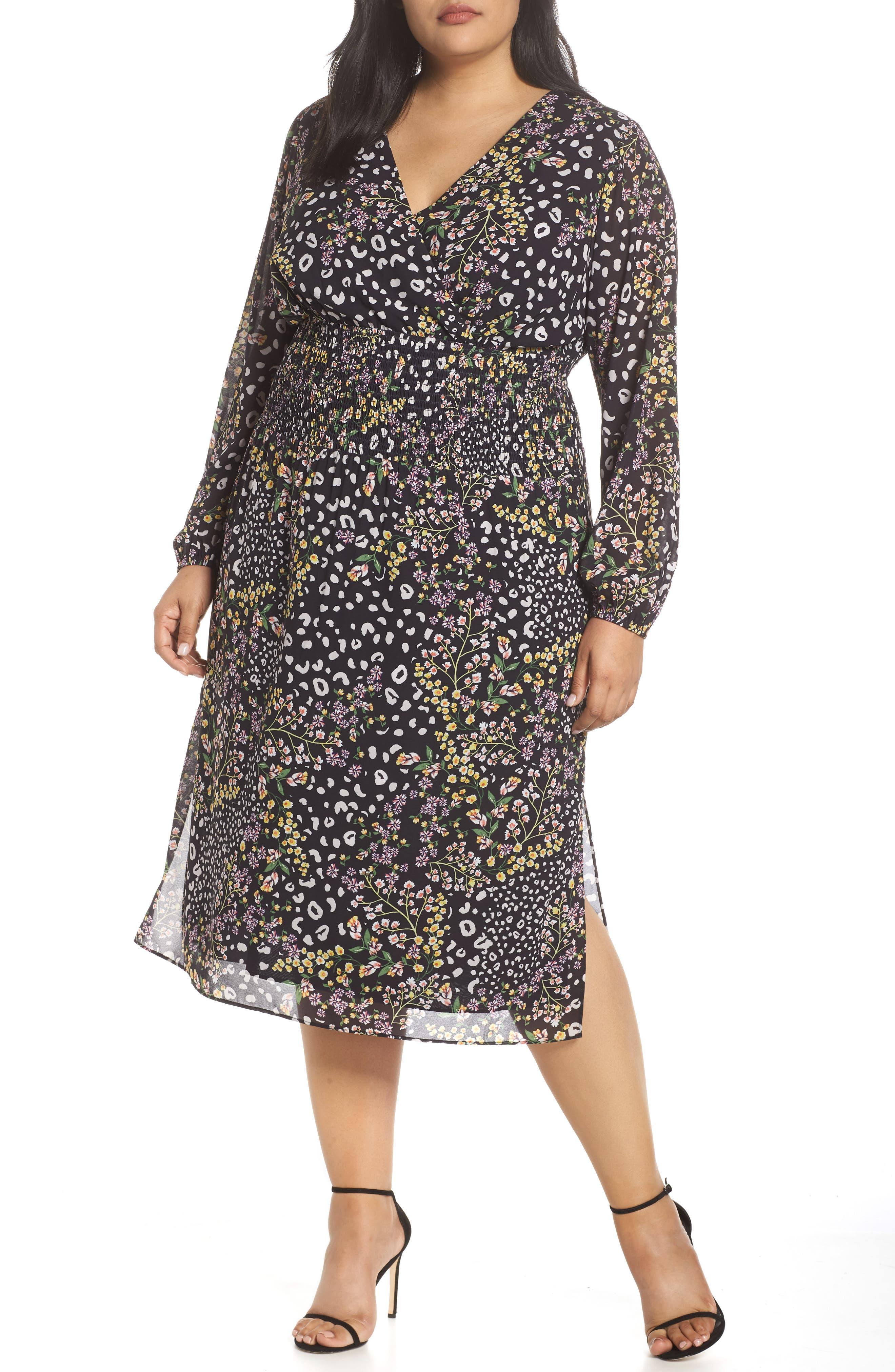 Plus Size Rachel Rachel Roy Iris Maxi Dress, Black