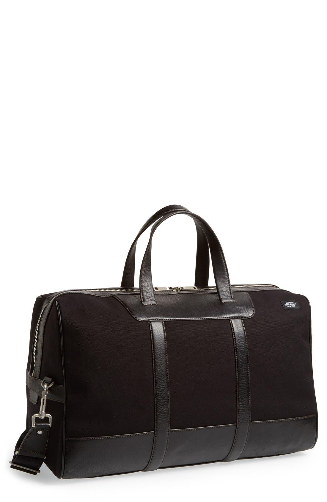 JACK SPADE 'Vault' Duffel Bag, Main, color, 001