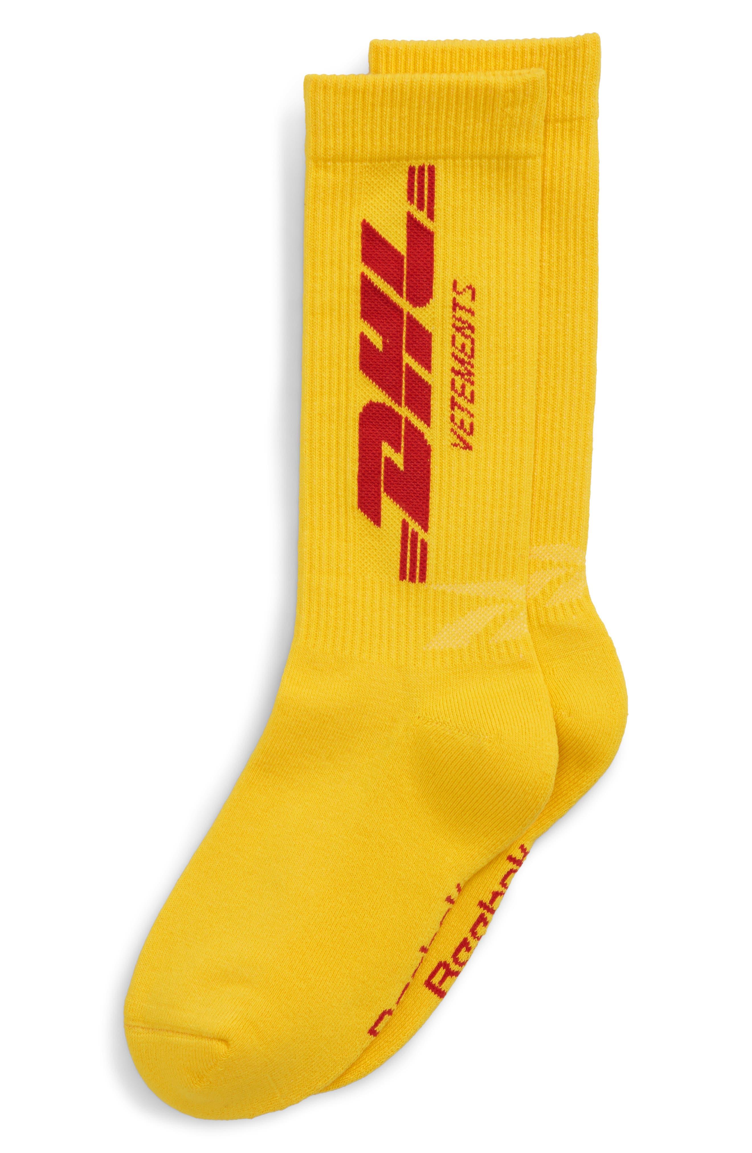 DHL Socks,                             Main thumbnail 1, color,                             700