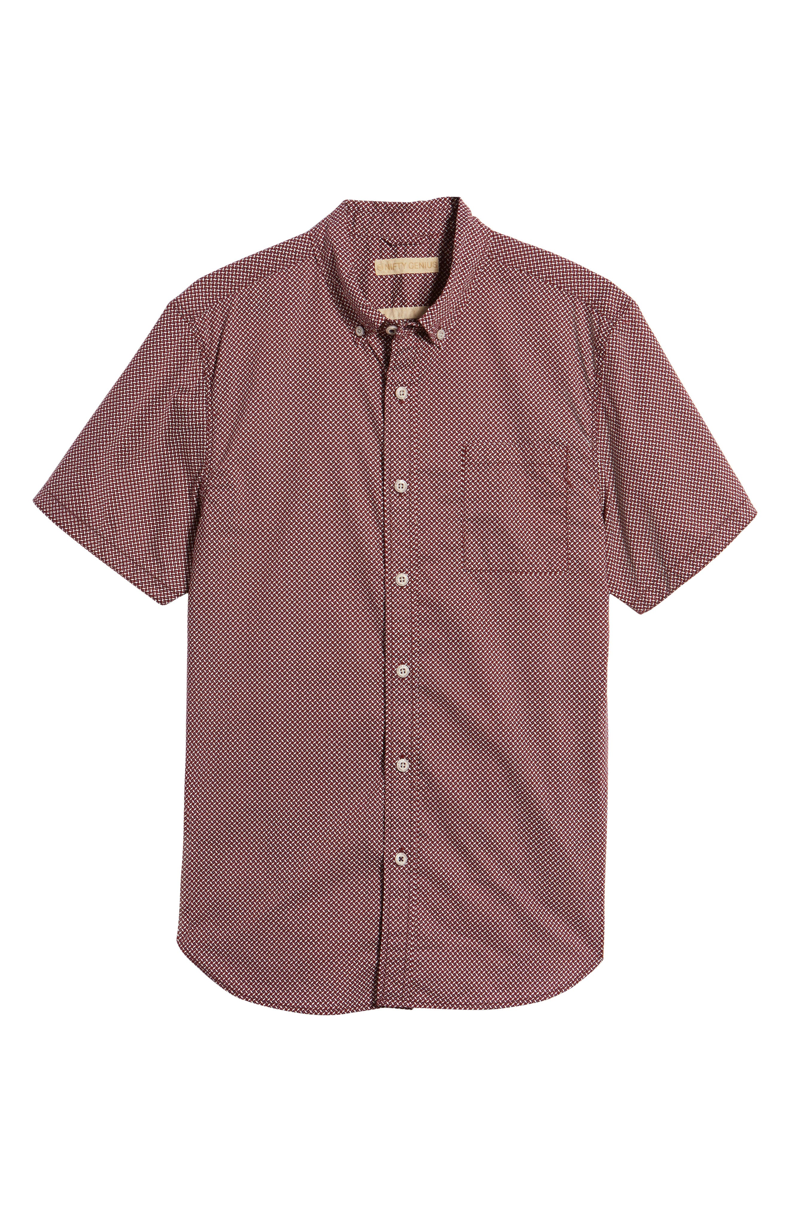 Truman Slim Fit Print Sport Shirt,                             Alternate thumbnail 6, color,                             601
