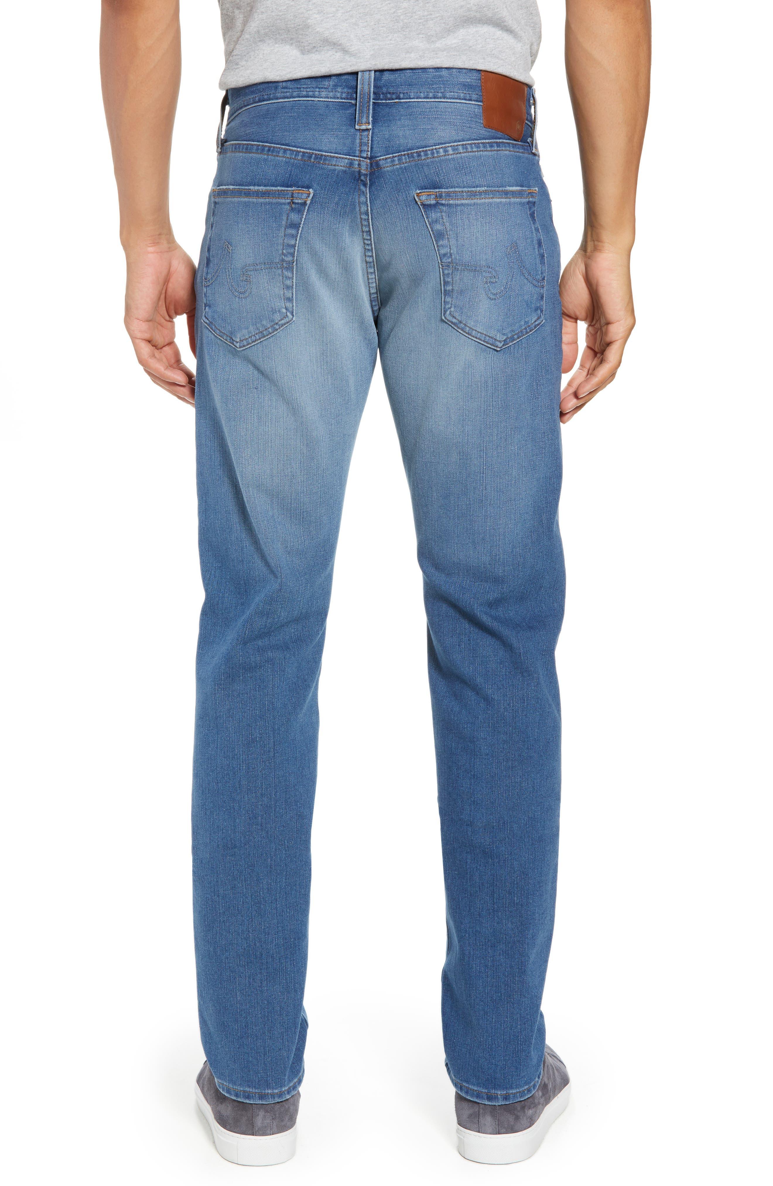 Everett Slim Straight Leg Jeans,                             Alternate thumbnail 2, color,                             487