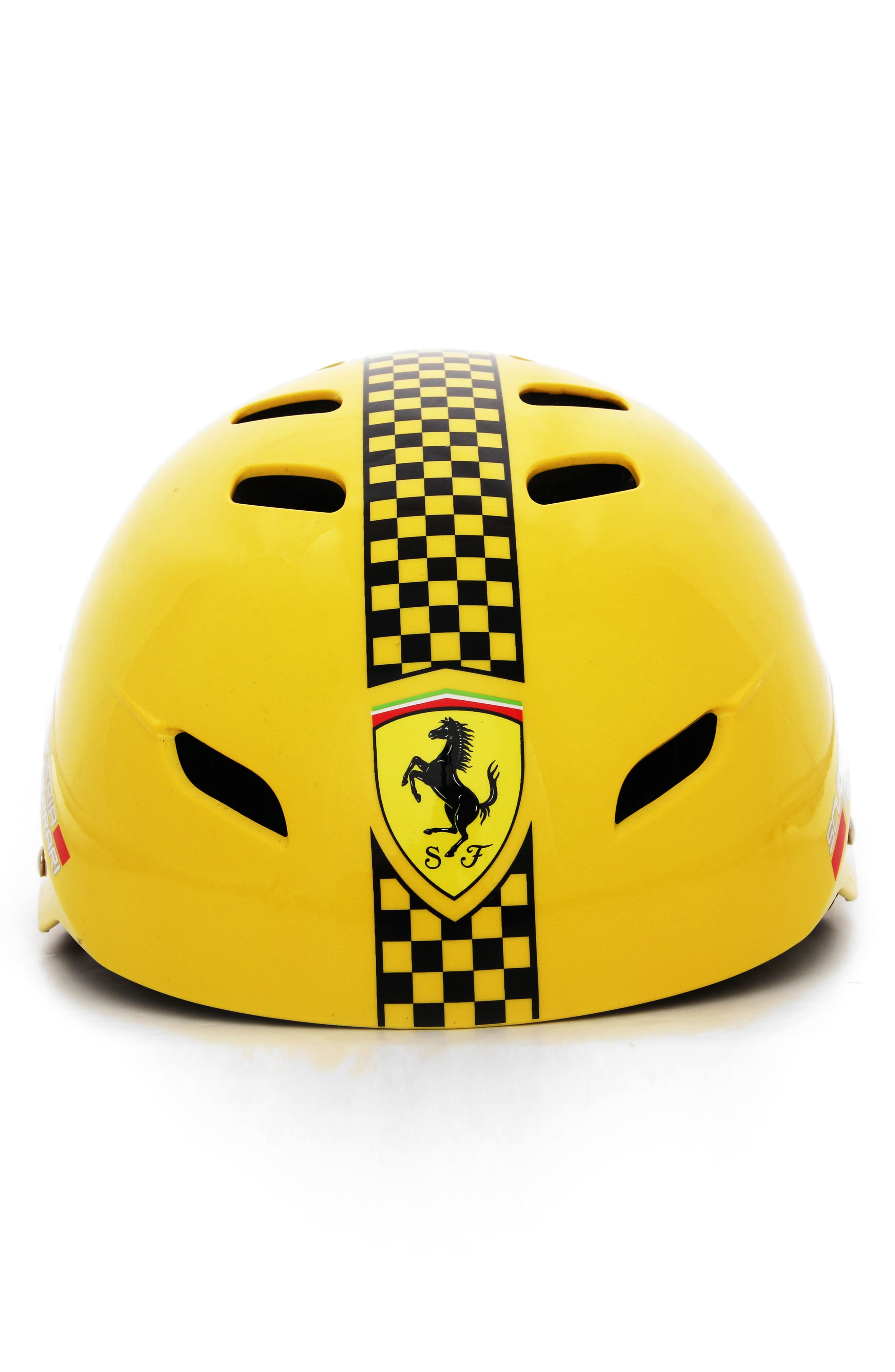 F1 Racing Helmet,                         Main,                         color, YELLOW