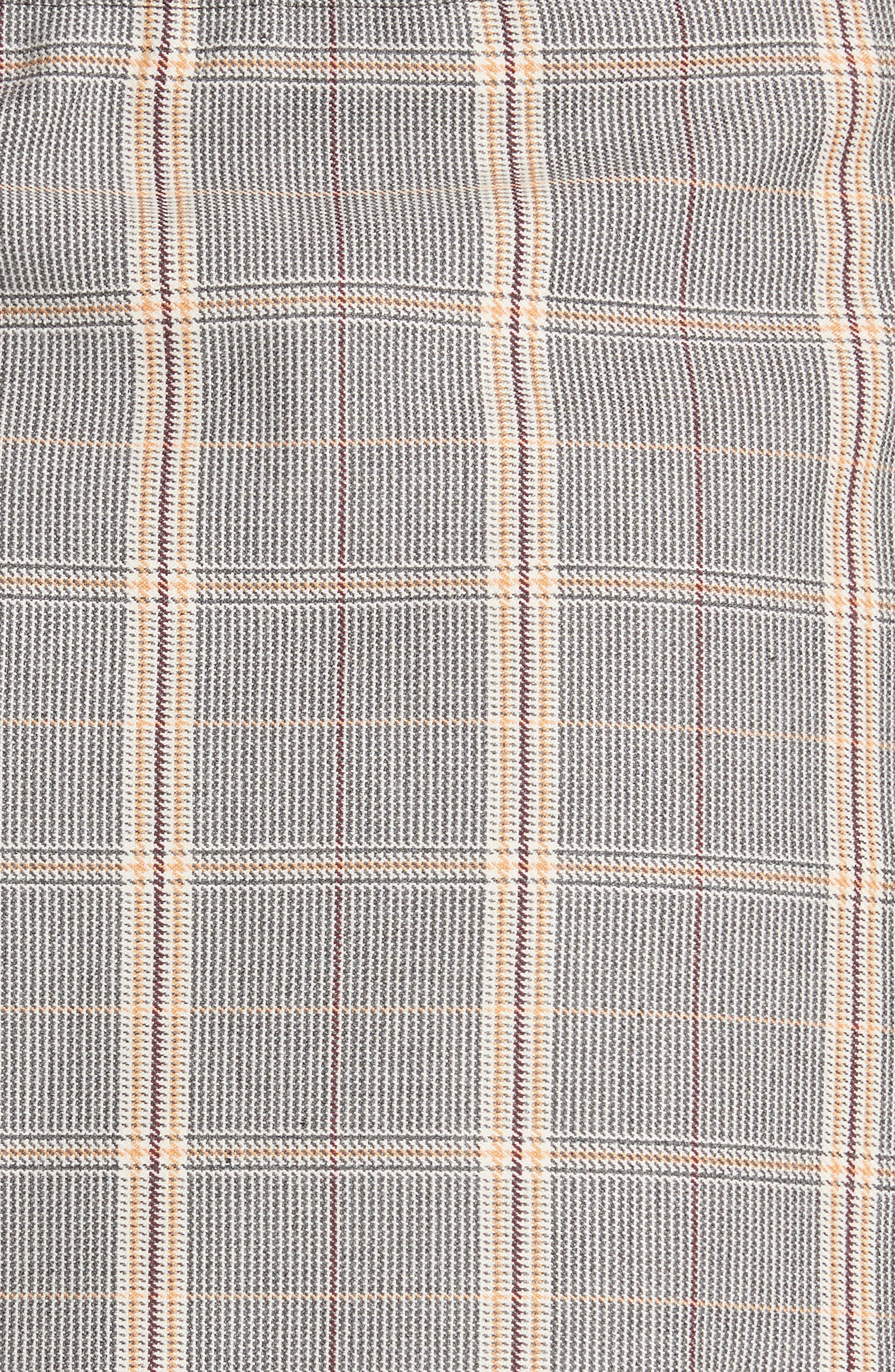 Plaid Skirt Front Shorts,                             Alternate thumbnail 5, color,                             020