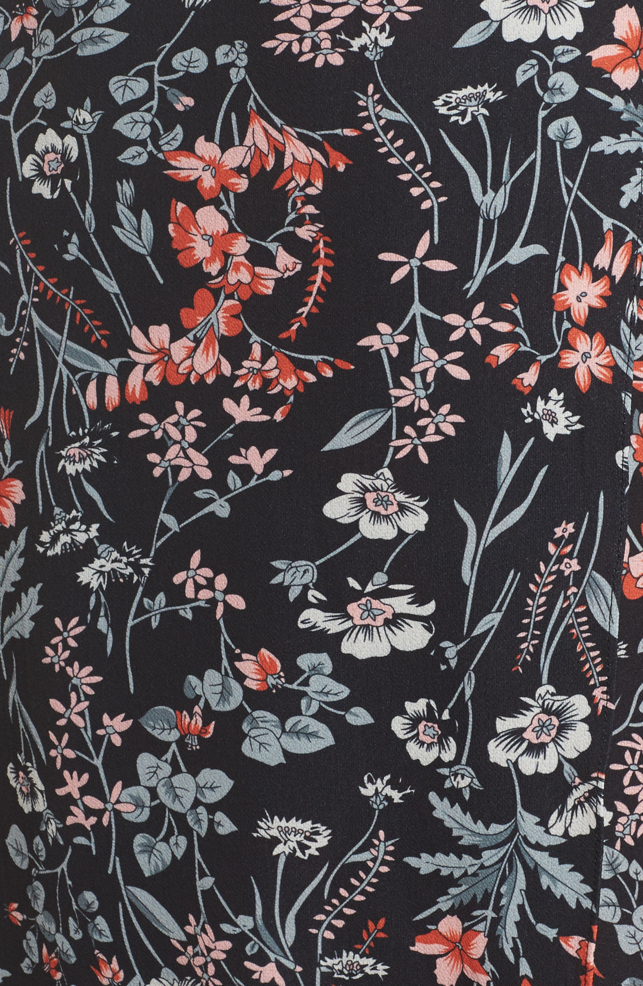 Print Maxi Dress,                             Alternate thumbnail 5, color,                             010