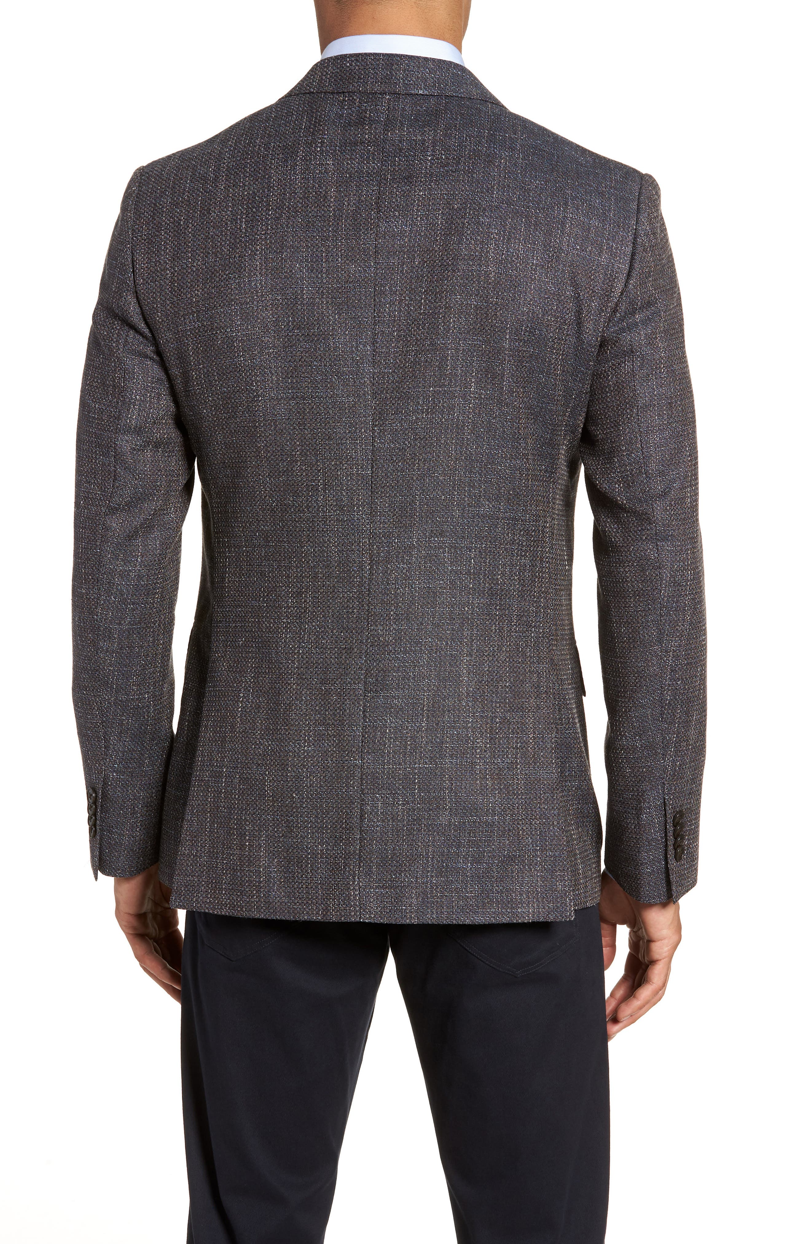 Five Bridges Slim Fit Tweed Sport Coat,                             Alternate thumbnail 2, color,                             800