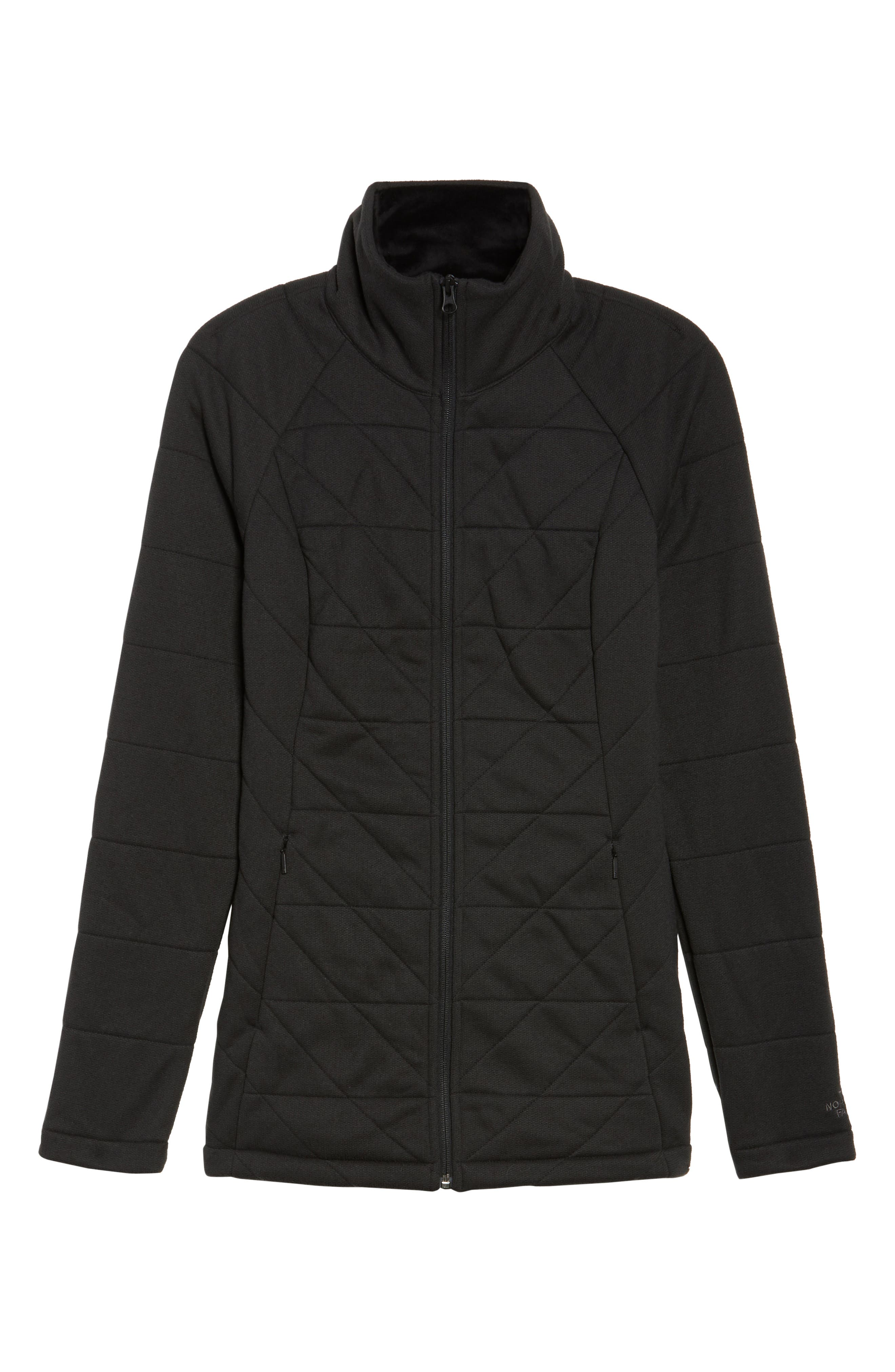 Fleece Jacket,                             Alternate thumbnail 6, color,                             001