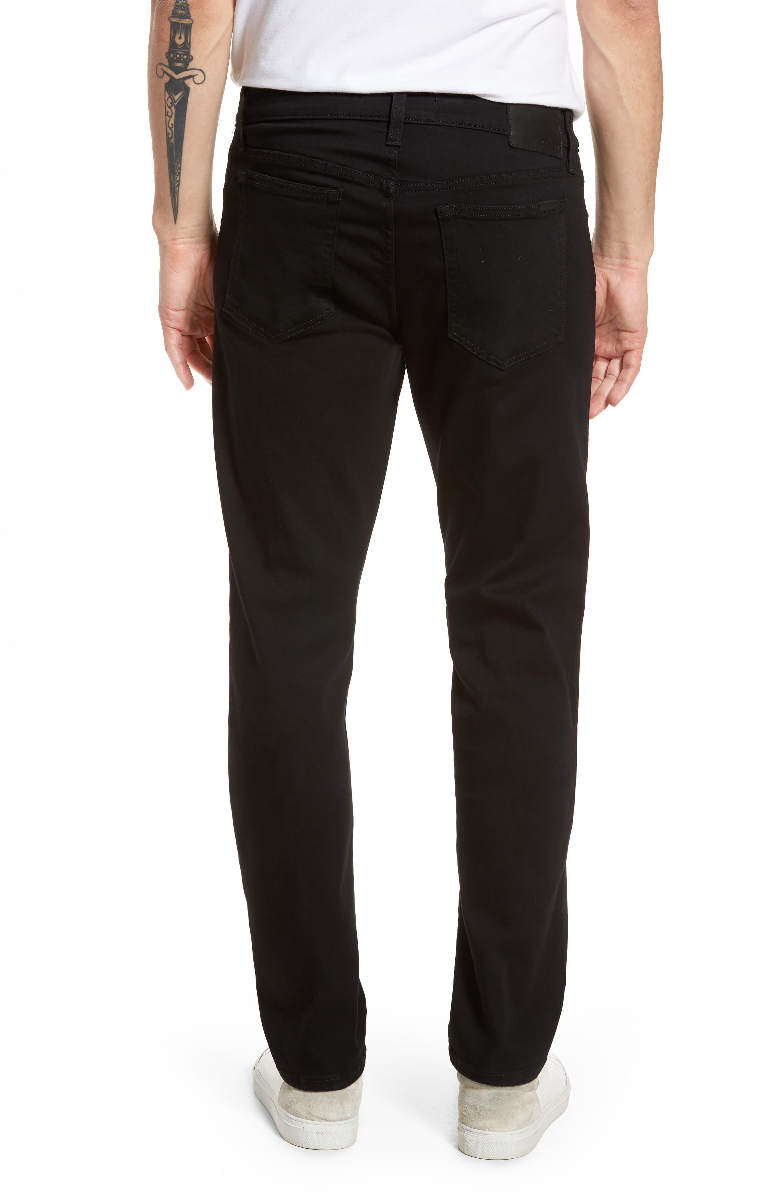 Brixton Slim Straight Fit Jeans,                             Alternate thumbnail 2, color,                             ABRAHAM