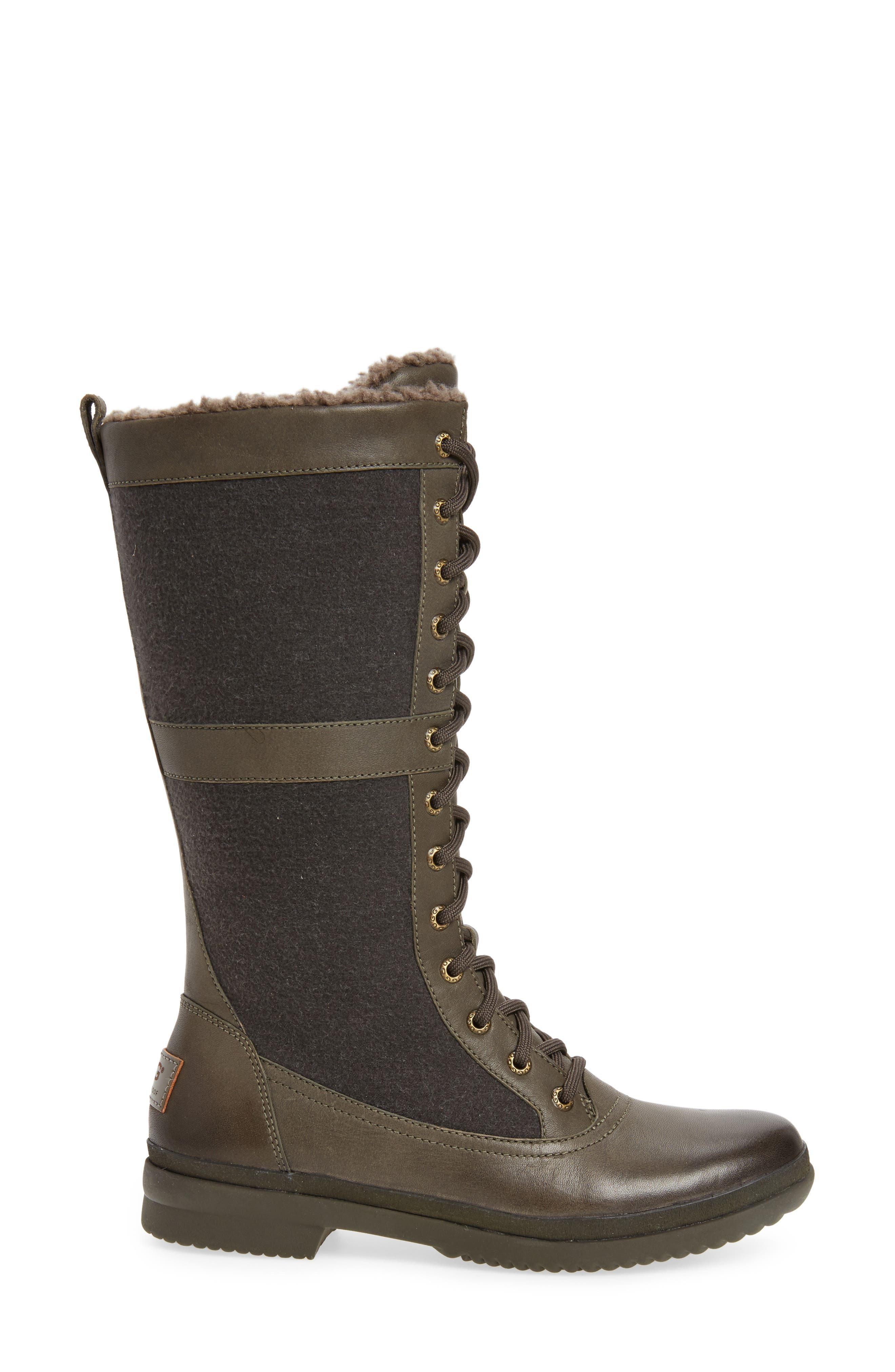 Elvia Waterproof Tall Boot,                             Alternate thumbnail 8, color,