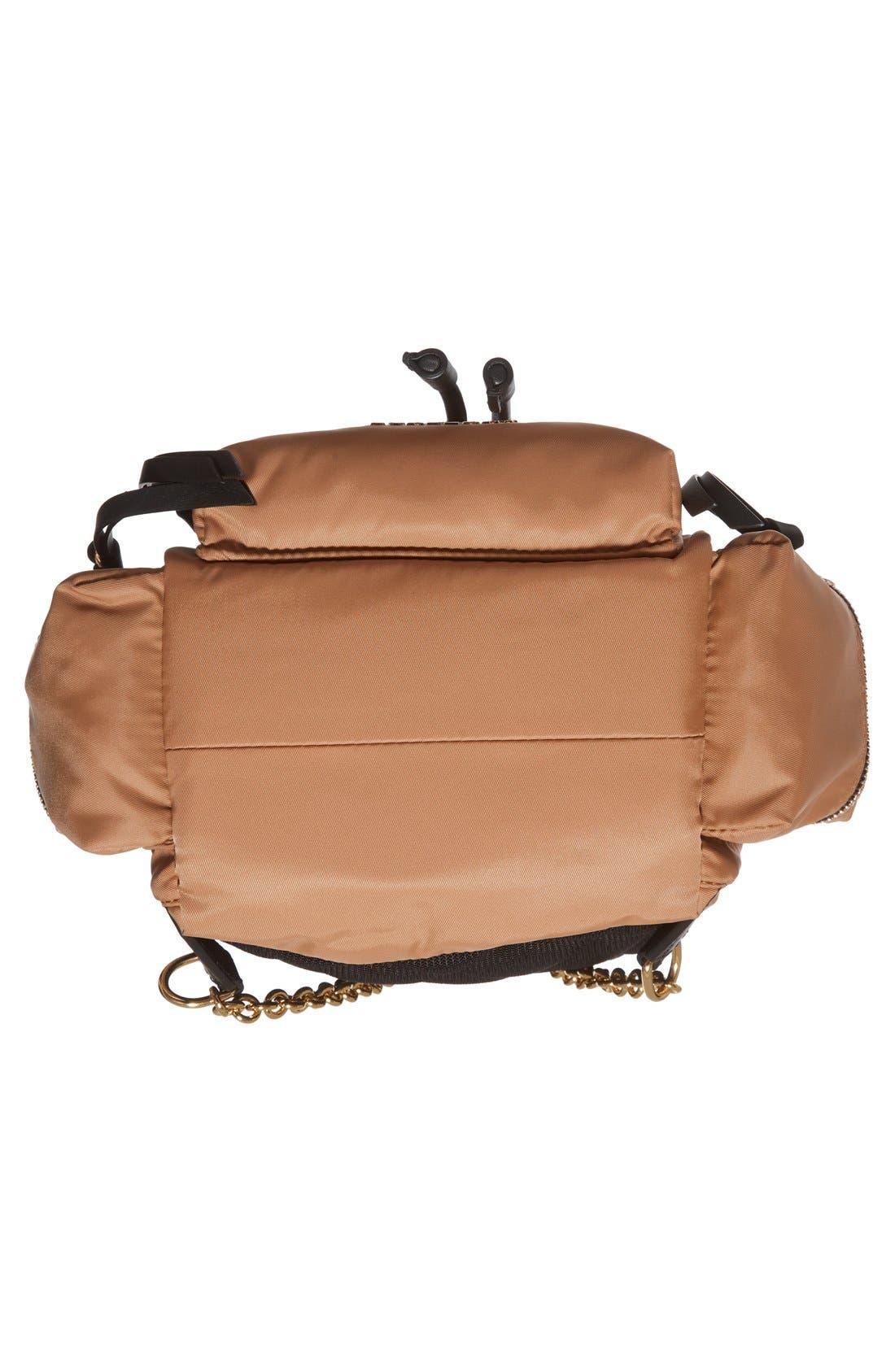 'Small Runway Rucksack' Nylon Backpack,                             Alternate thumbnail 6, color,                             272