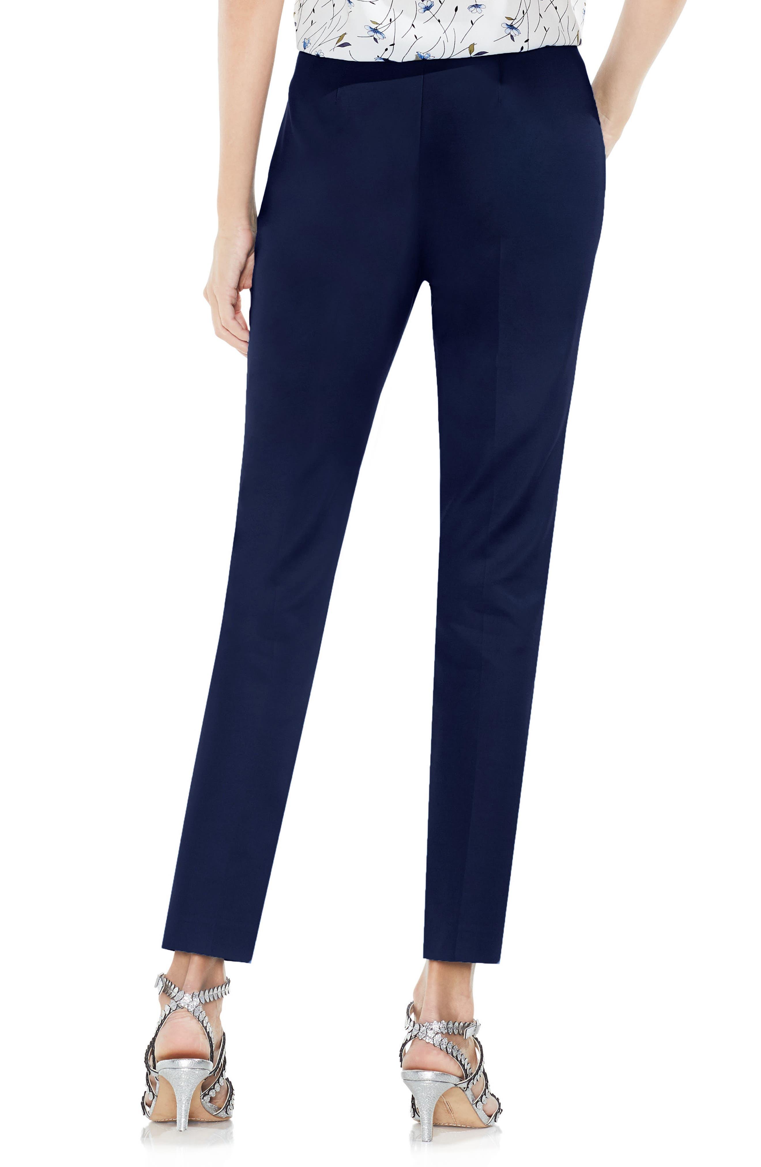 Side Zip Double Weave Pants,                             Alternate thumbnail 25, color,