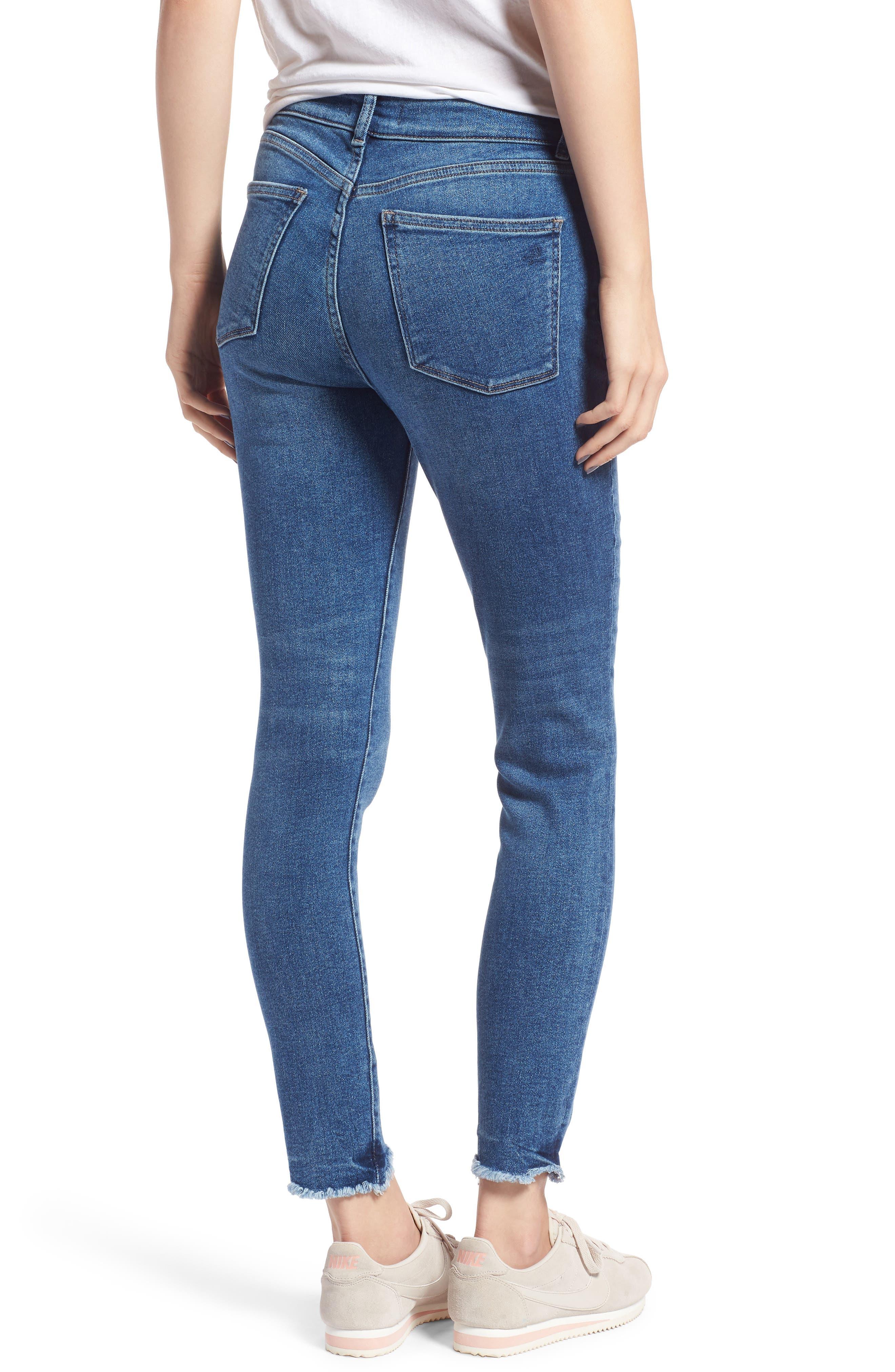 Farrow High Waist Skinny Jeans,                             Alternate thumbnail 2, color,                             422