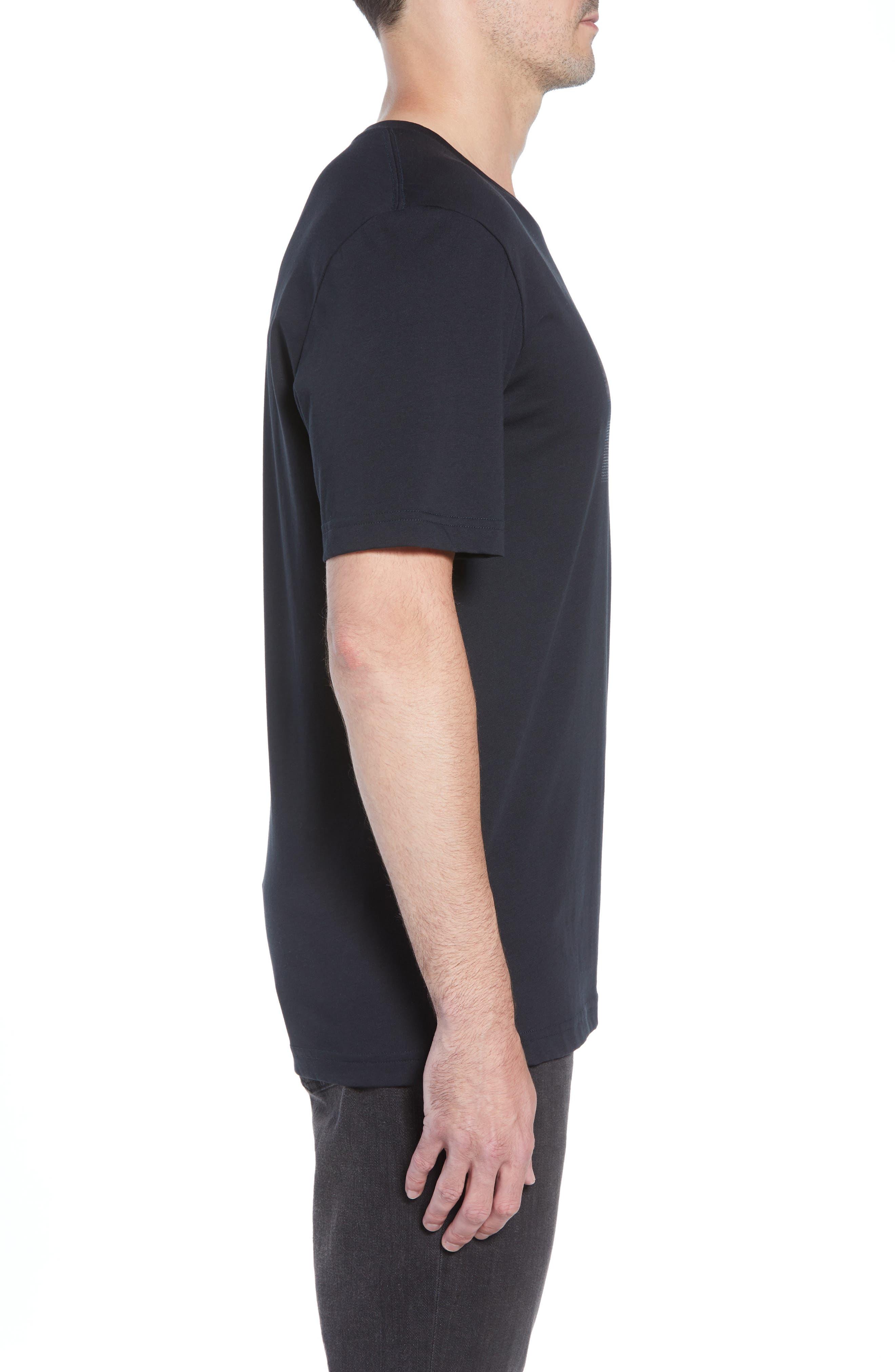 Rock City Crewneck T-Shirt,                             Alternate thumbnail 3, color,                             BLACK