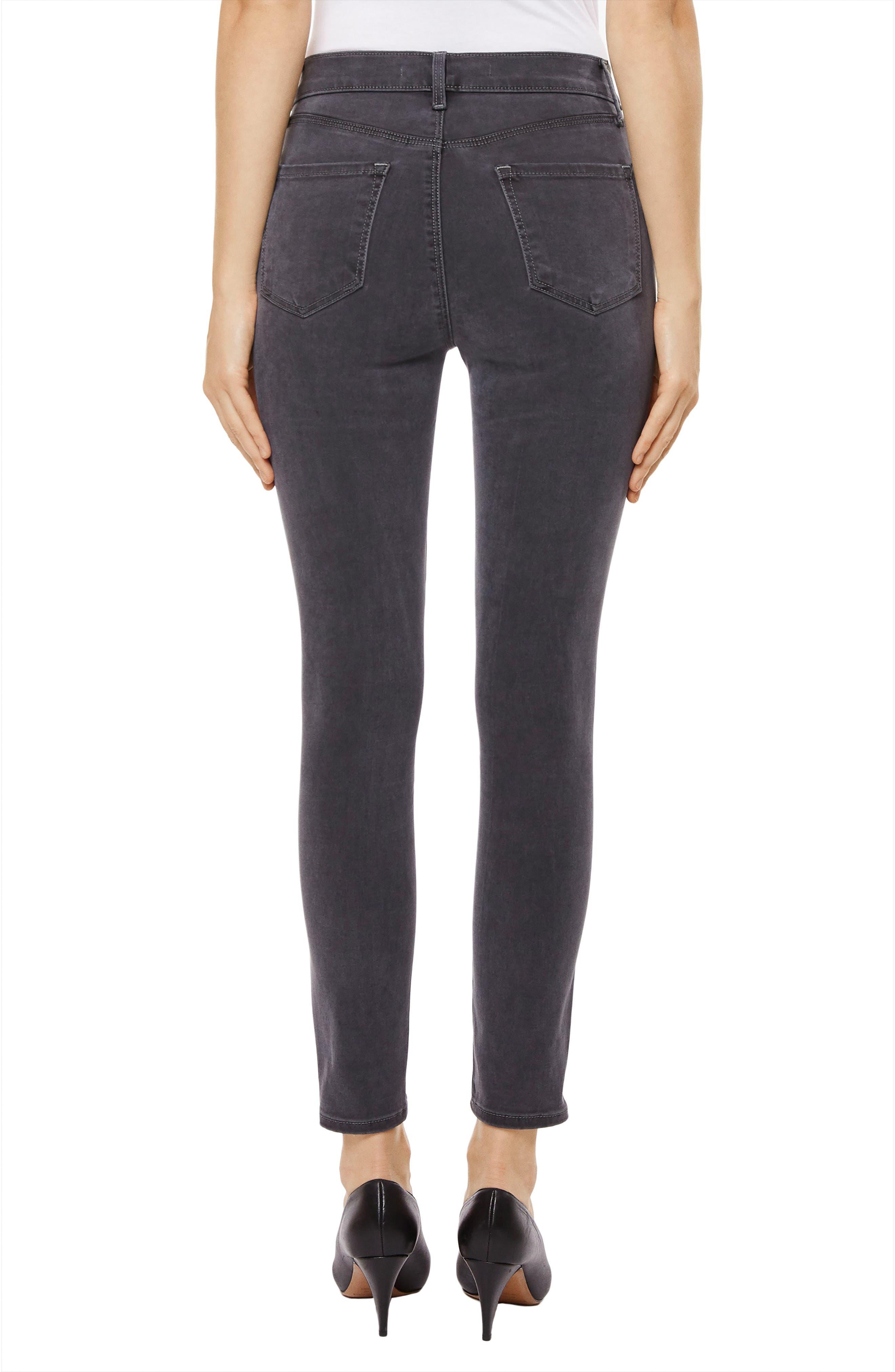 Alana High Waist Crop Skinny Jeans,                             Alternate thumbnail 2, color,