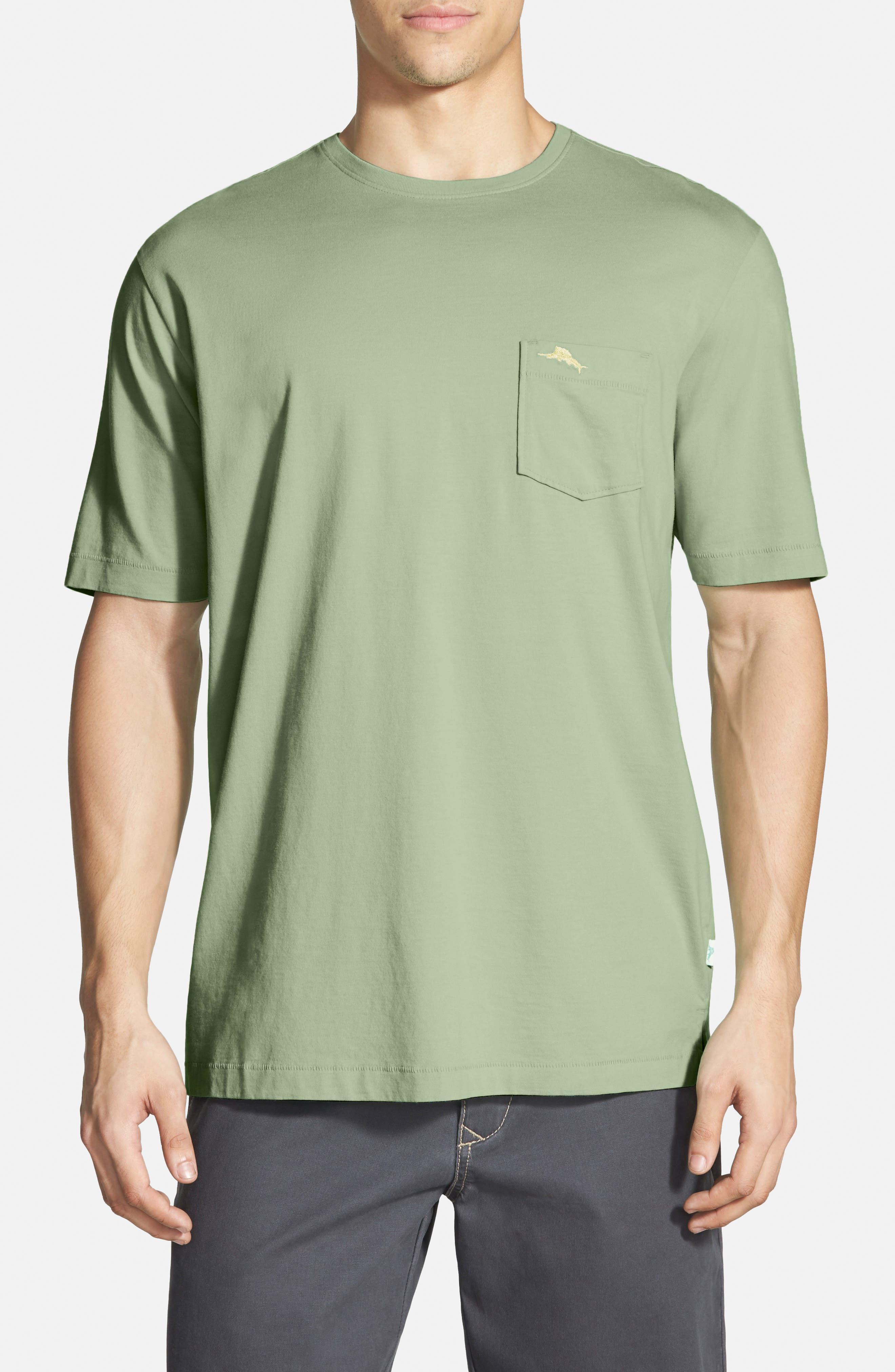 New Bali Sky Pima Cotton Pocket T-Shirt,                             Main thumbnail 15, color,