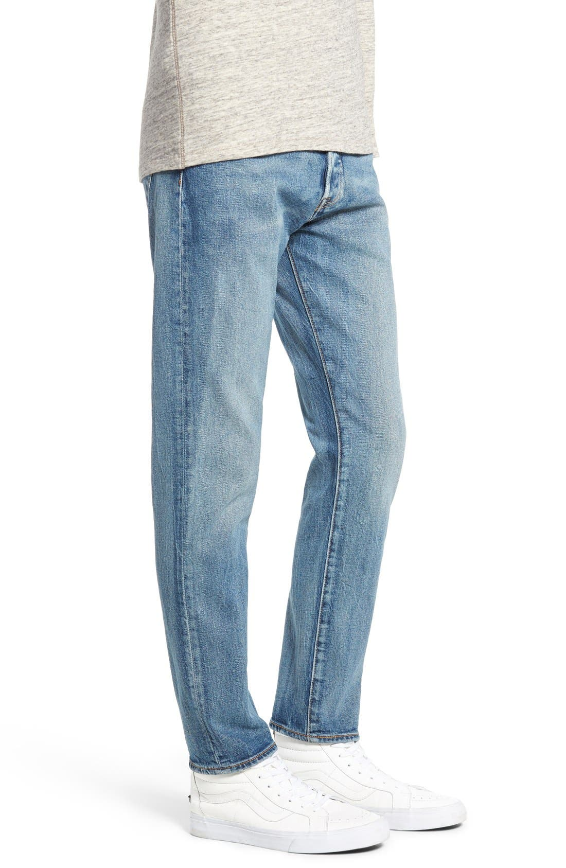 LEVI'S<SUP>®</SUP>,                             '501<sup>®</sup> CT' Custom Tapered Fit Jeans,                             Alternate thumbnail 3, color,                             405