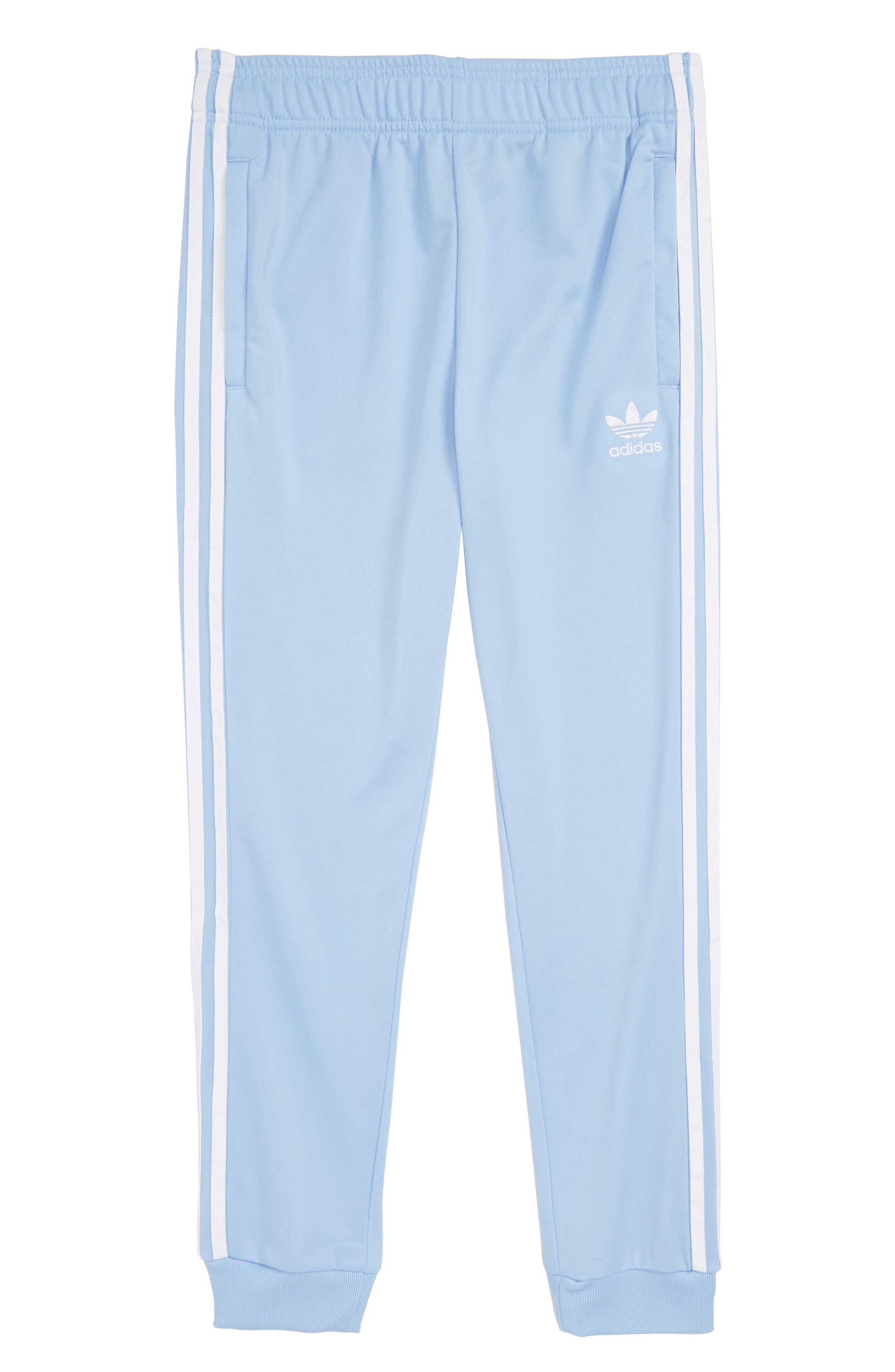 Superstar Track Pants,                             Main thumbnail 1, color,                             CLESKY/ WHITE