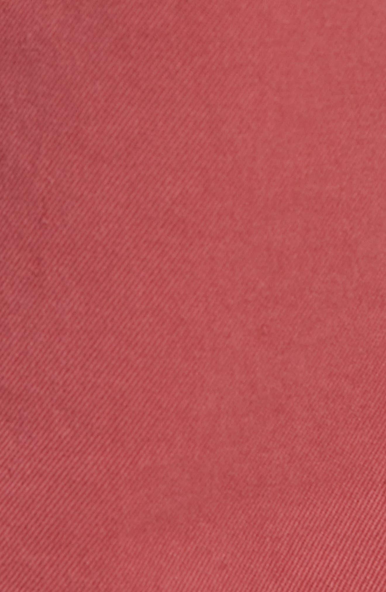 RAG & BONE,                             Fit 2 Slim Fit Chinos,                             Alternate thumbnail 5, color,                             ELLIS RED