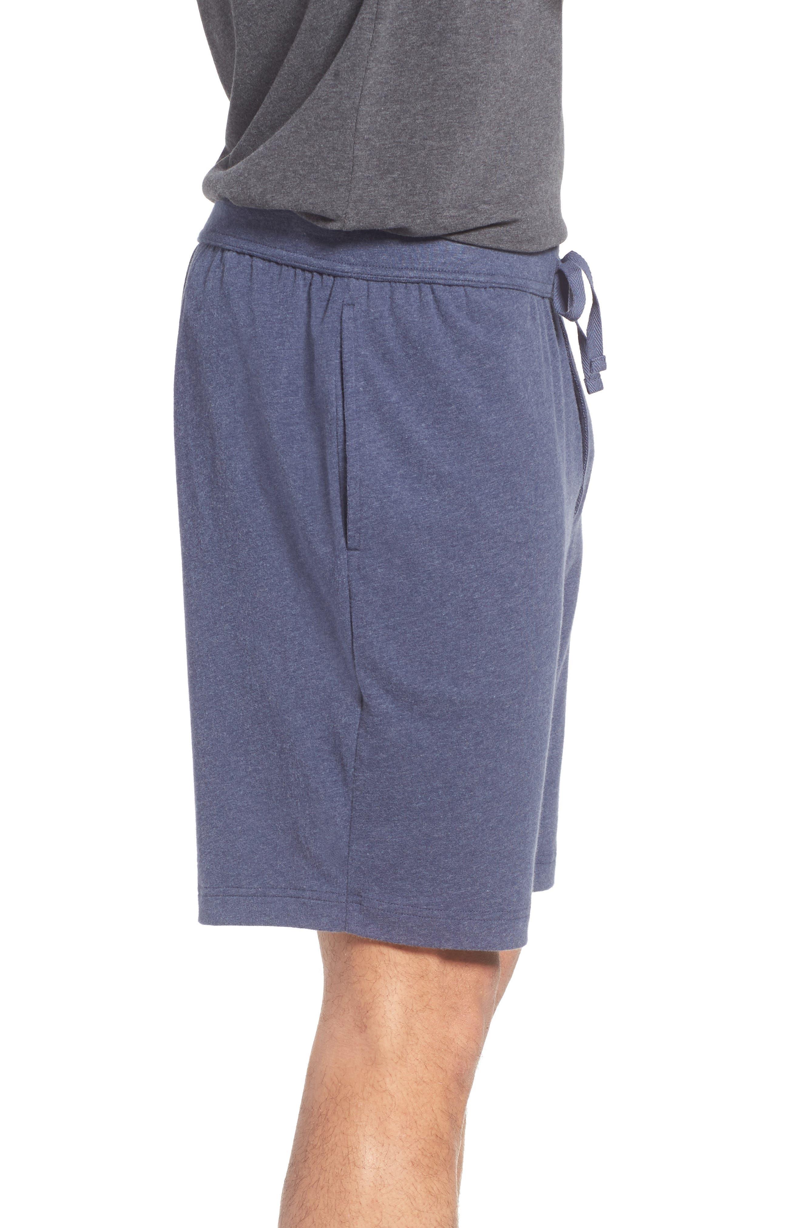 Stretch Cotton Lounge Shorts,                             Alternate thumbnail 6, color,