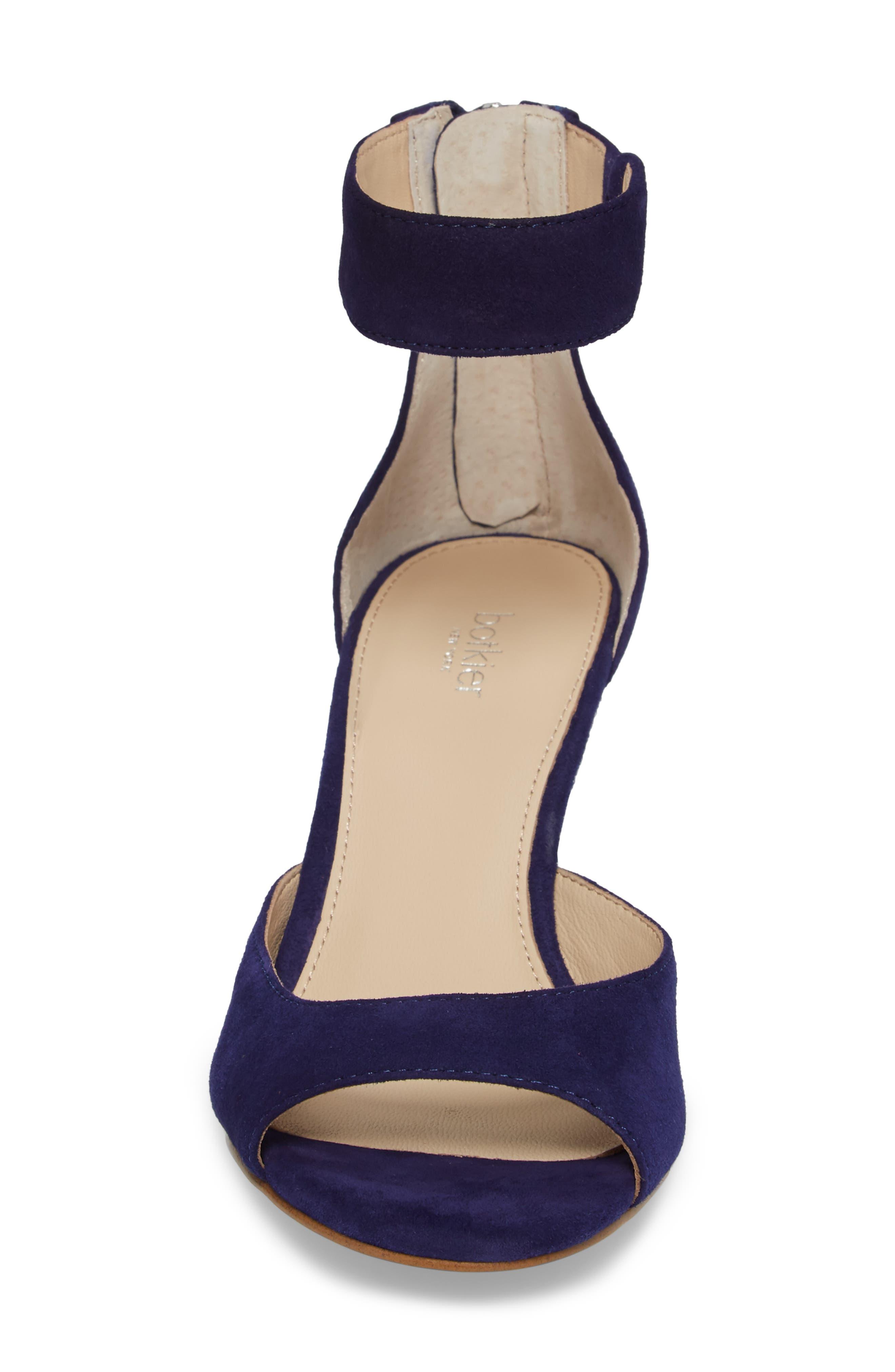 Pilar Ankle Strap Sandal,                             Alternate thumbnail 4, color,                             403