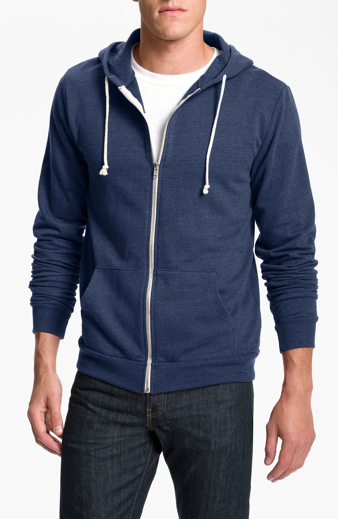 Threads for Thought Trim Fit Heathered Hoodie,                             Main thumbnail 3, color,