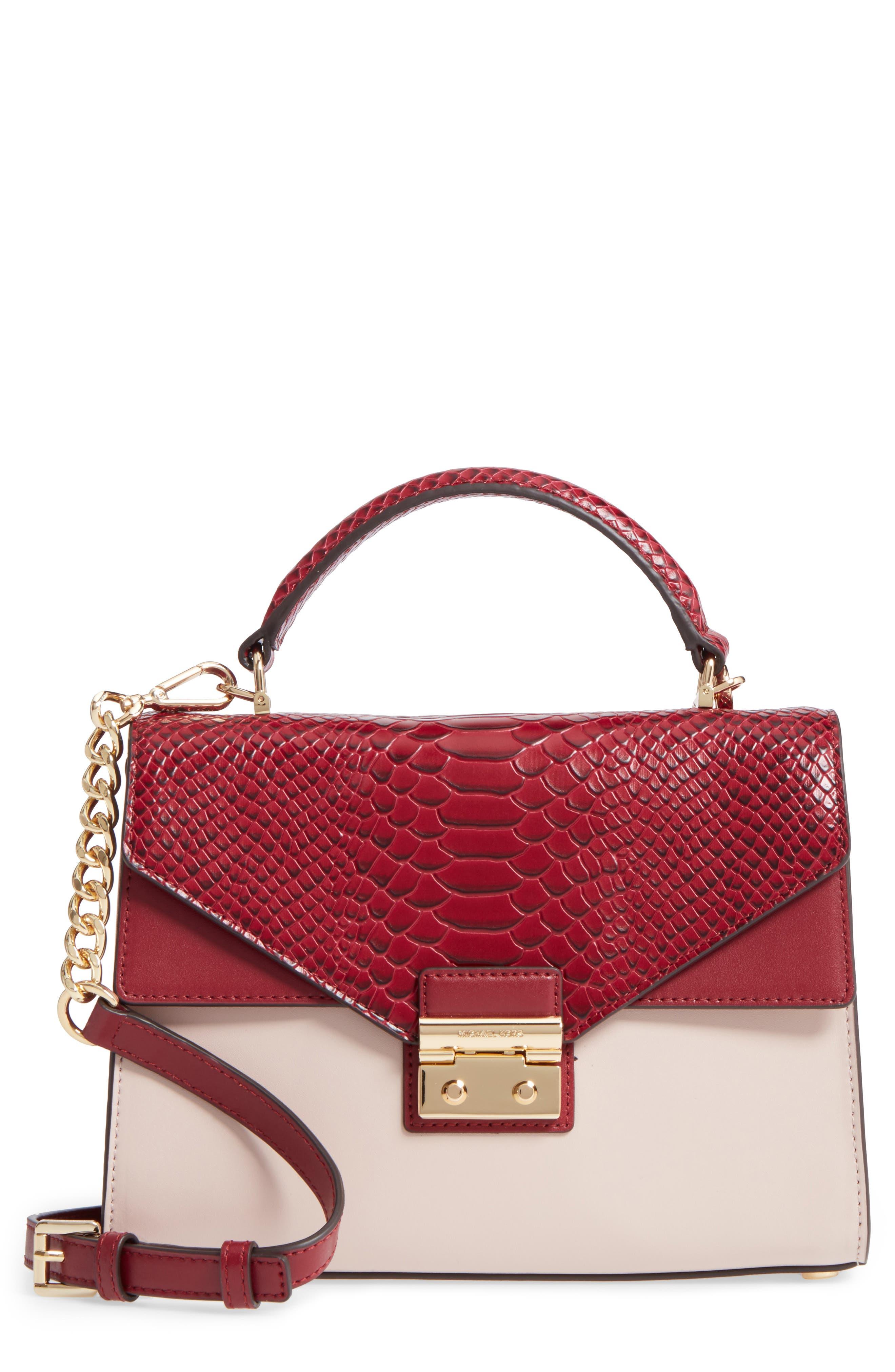Medium Sloan Leather Shoulder Bag,                             Main thumbnail 1, color,                             686
