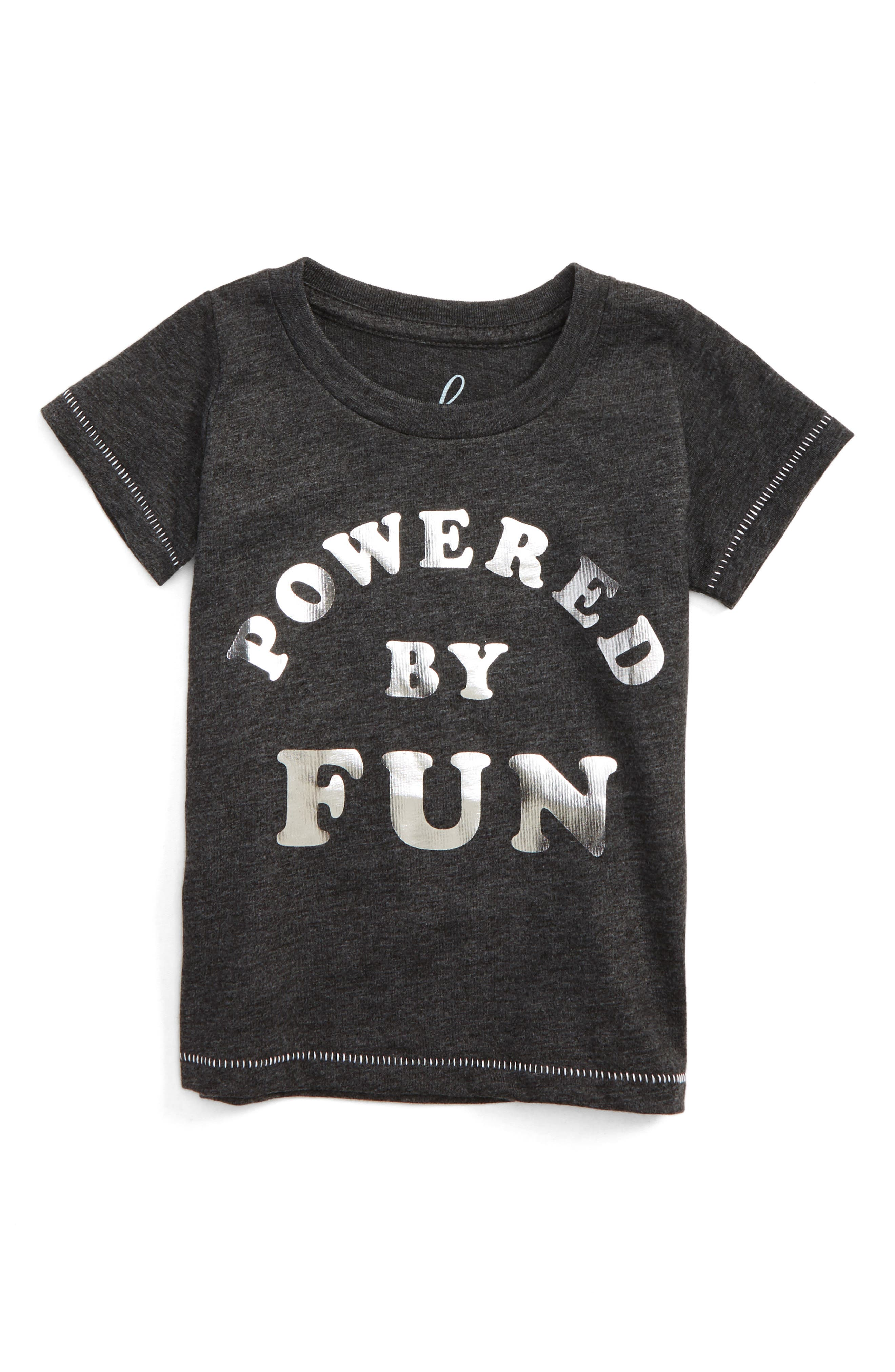 Powered By Fun Graphic Tee,                             Main thumbnail 1, color,                             021